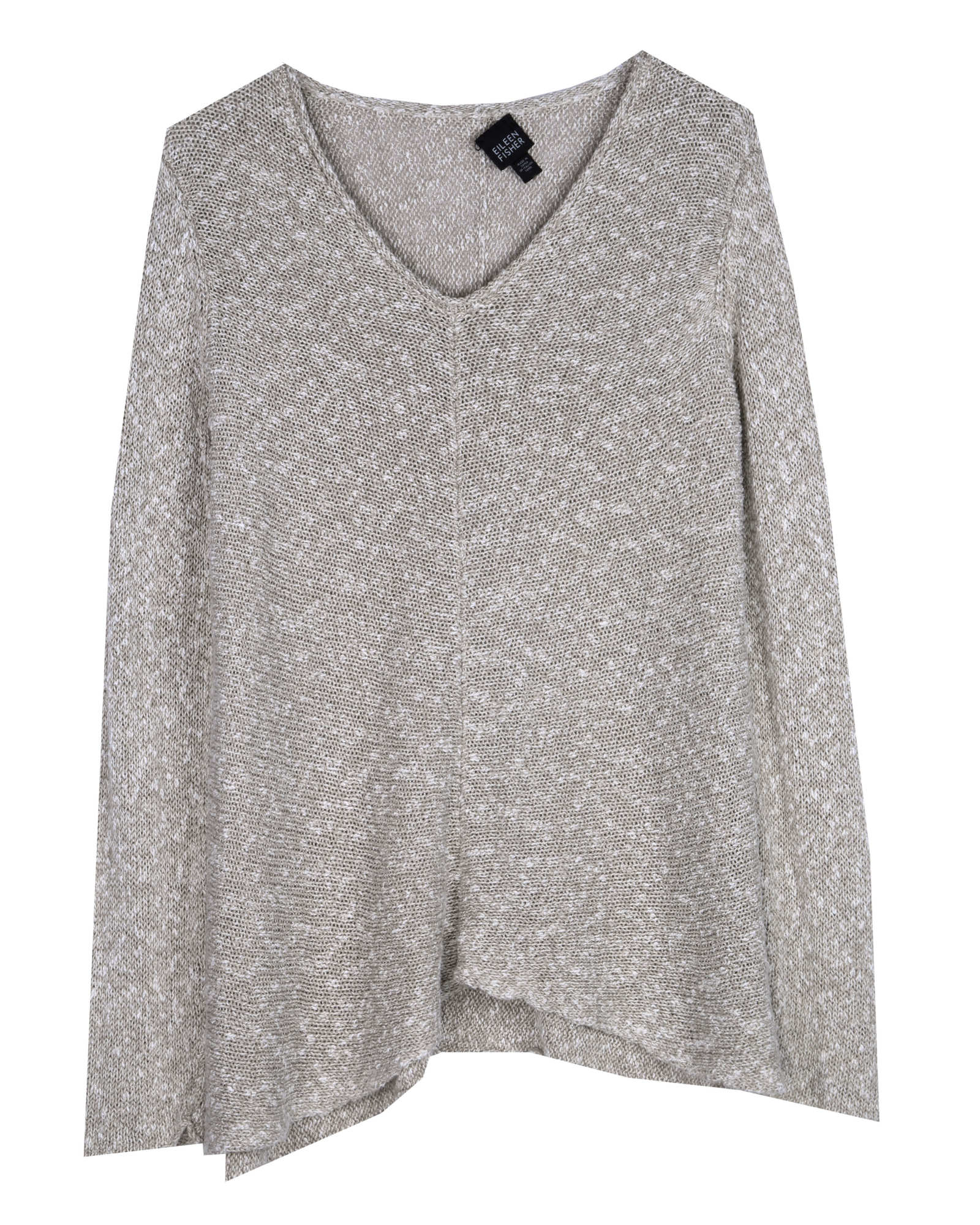 Linen Cotton Knit Pullover