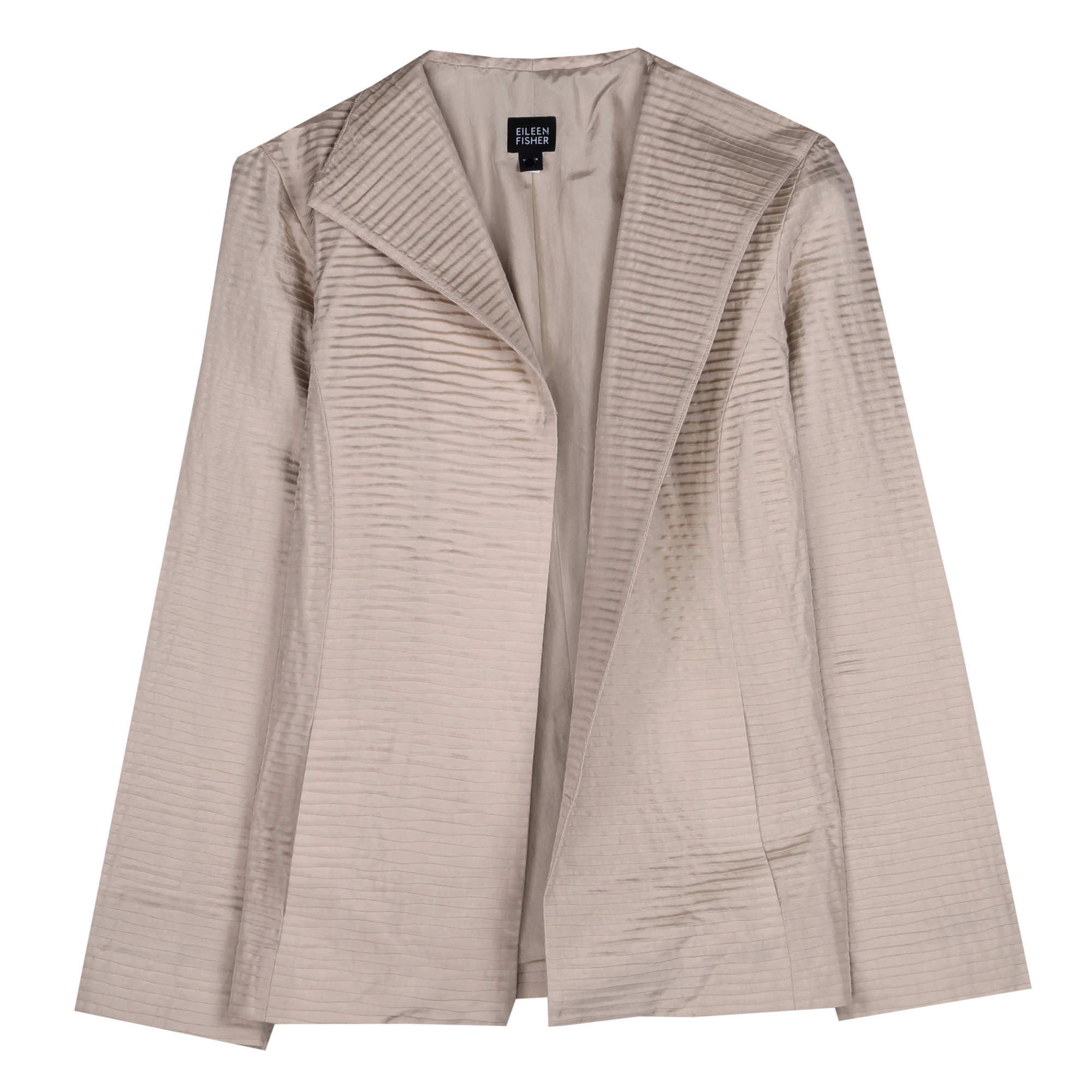 Silk Habutai Pleat Jacket