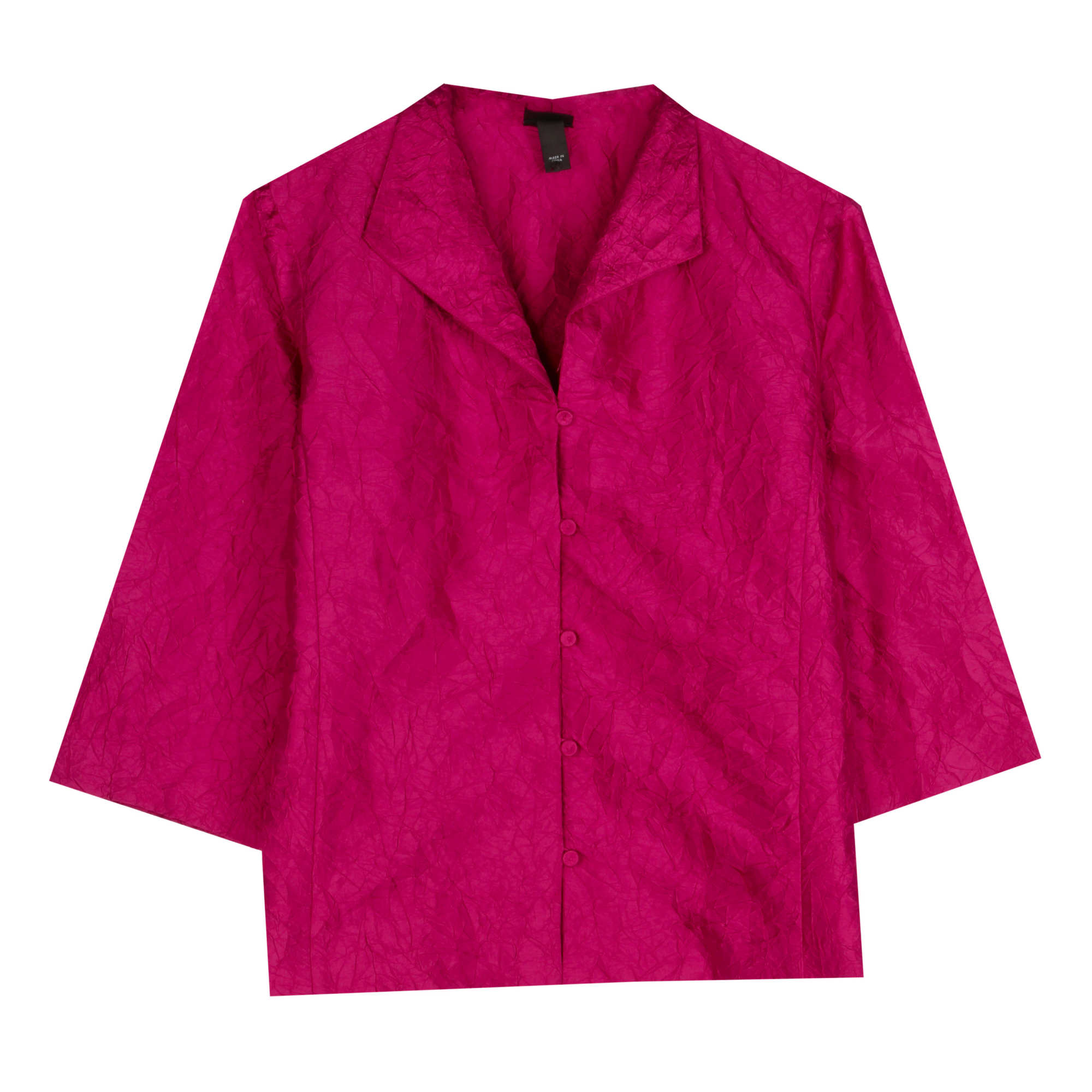 Crushed Silk Dupioni Jacket