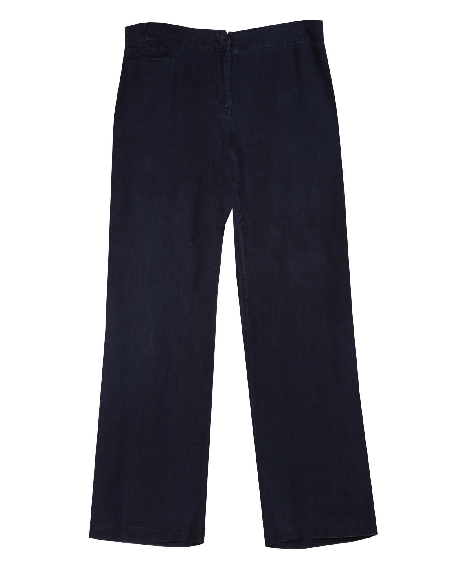 Washed Linen Twill Pant