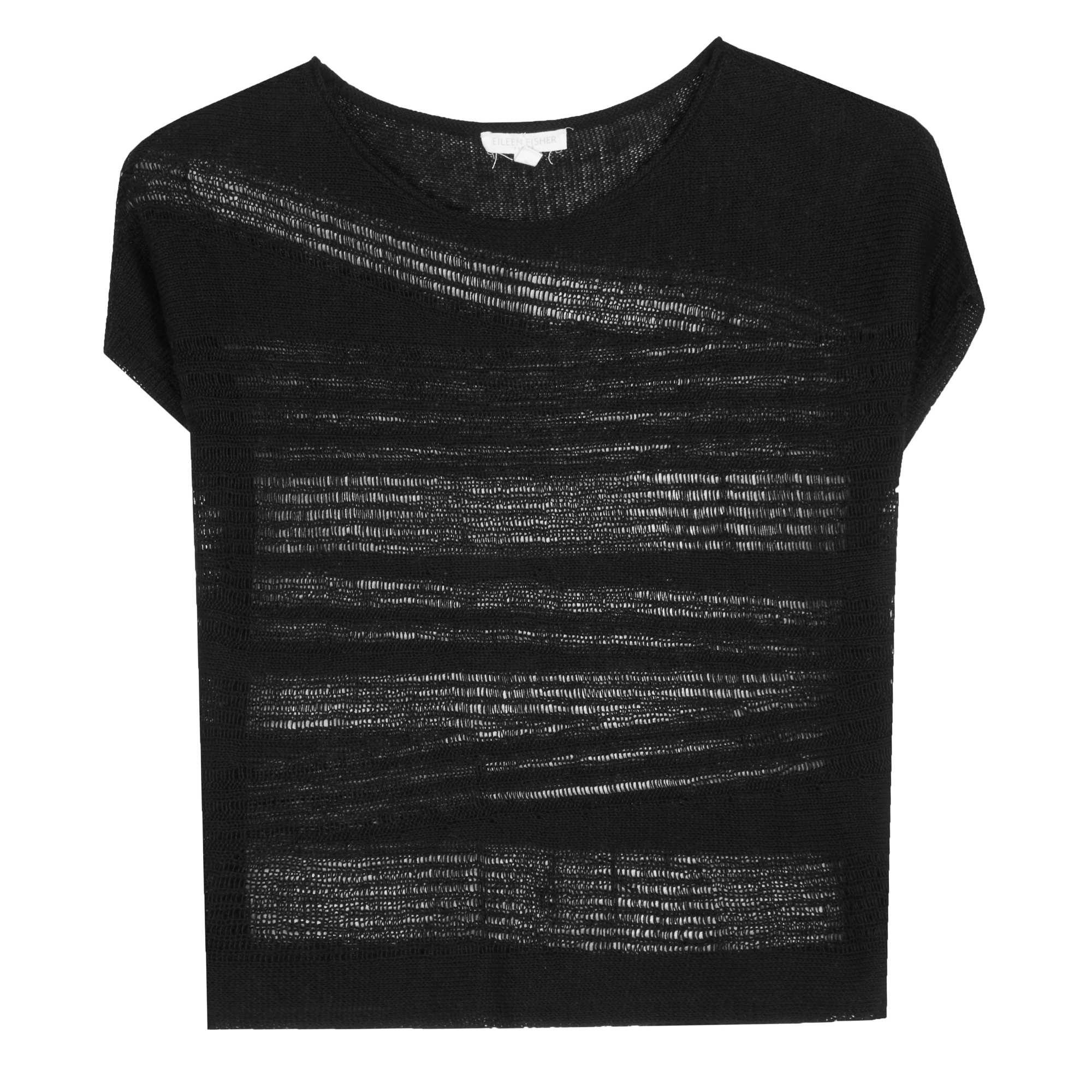 Organic Linen Fine Gauge Drift Pullover
