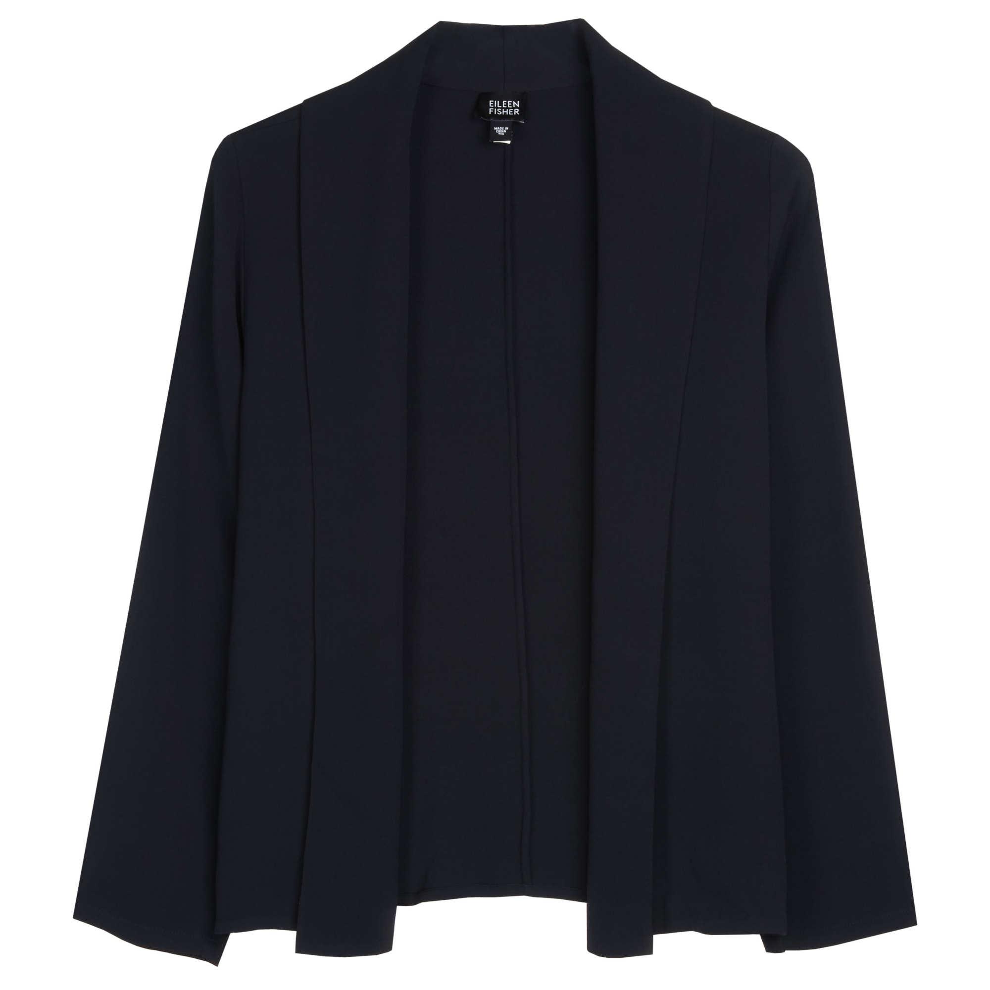 Heavyweight Silk Georgette Stretch Jacket