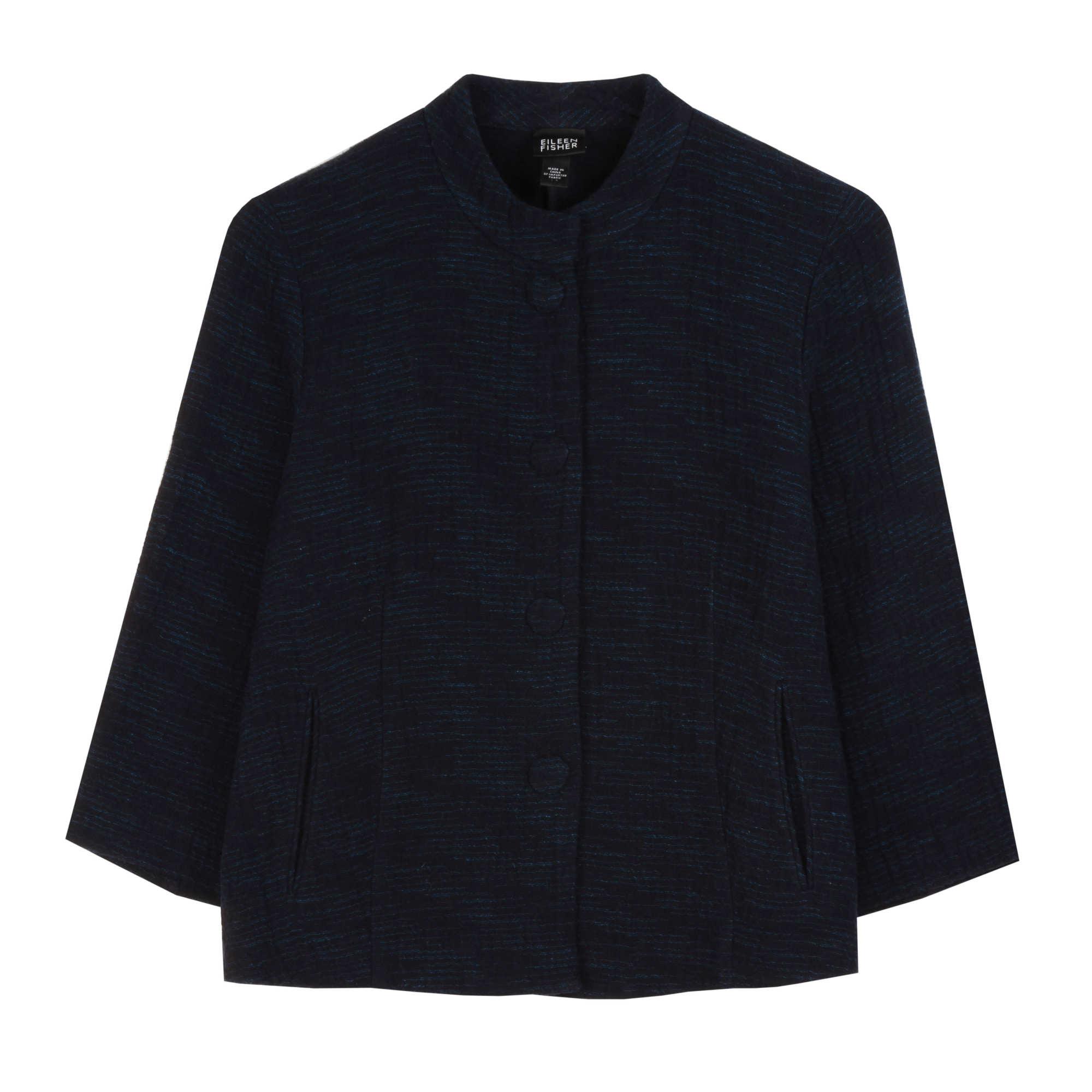 Artisanal Cotton Doubleweave Jacket
