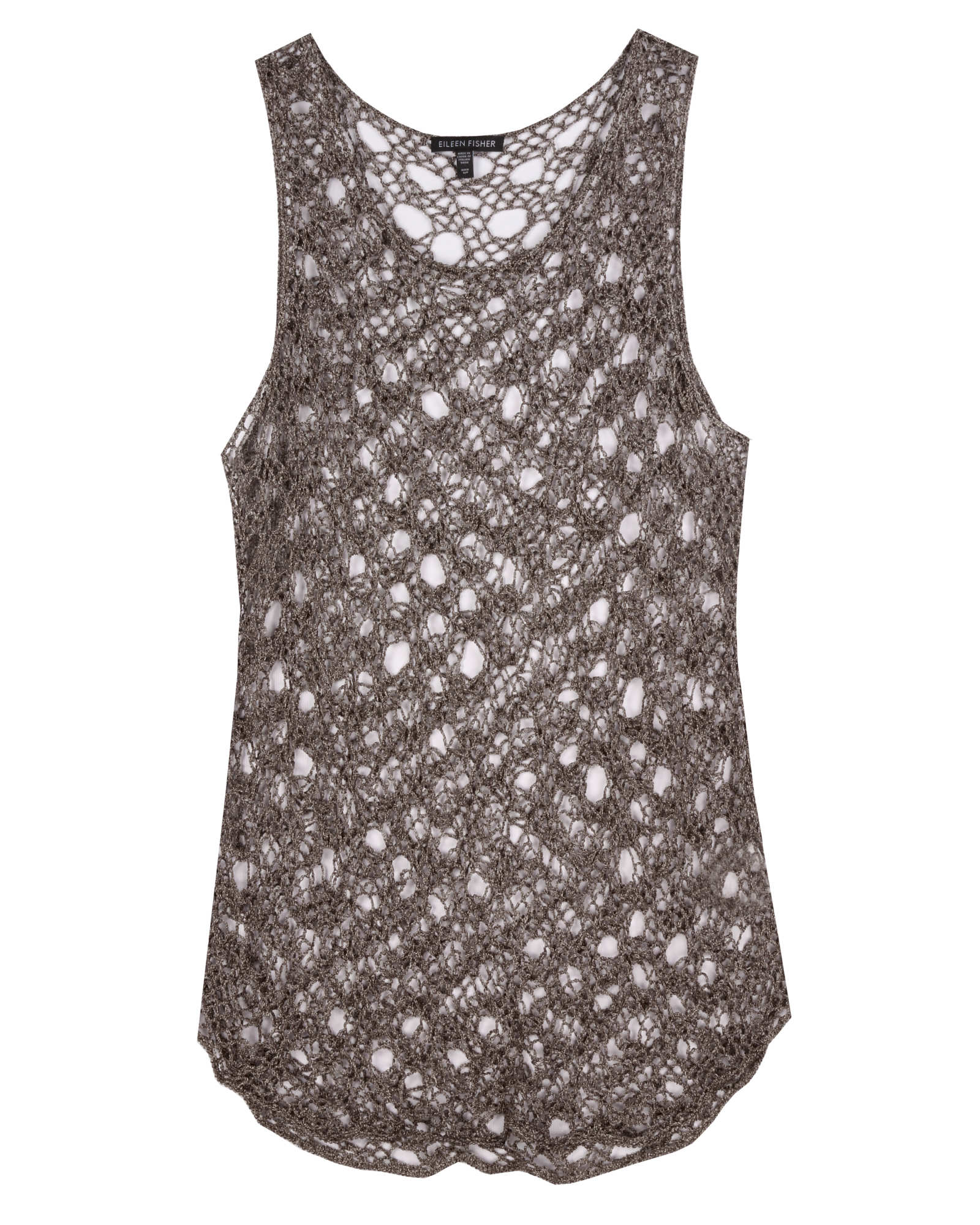 Cotton Metallic Tank