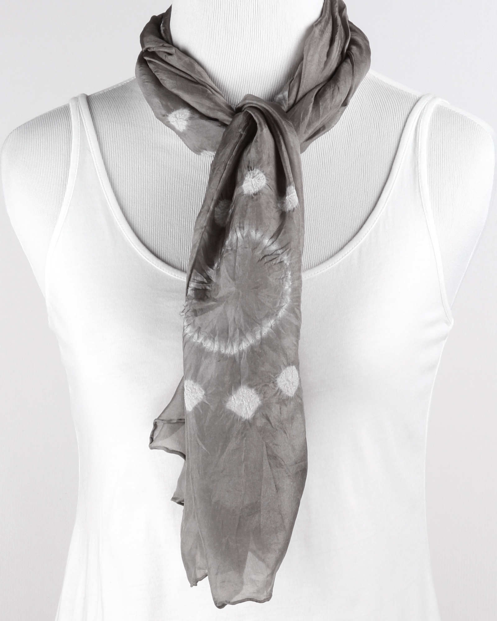 Cozy Viscose Stretch Rib Scarf