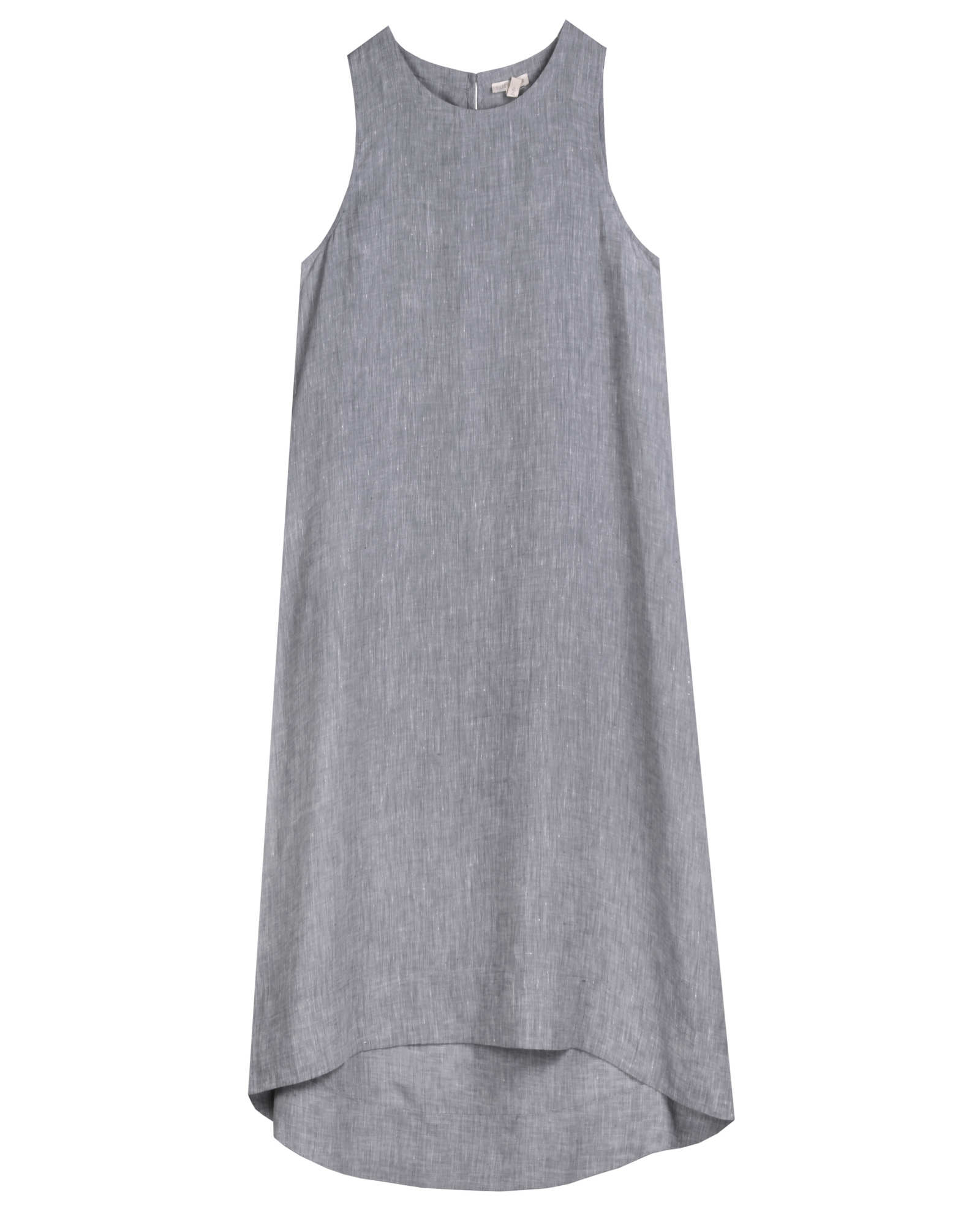 Yarn-Dyed Handkerchief Linen Dress