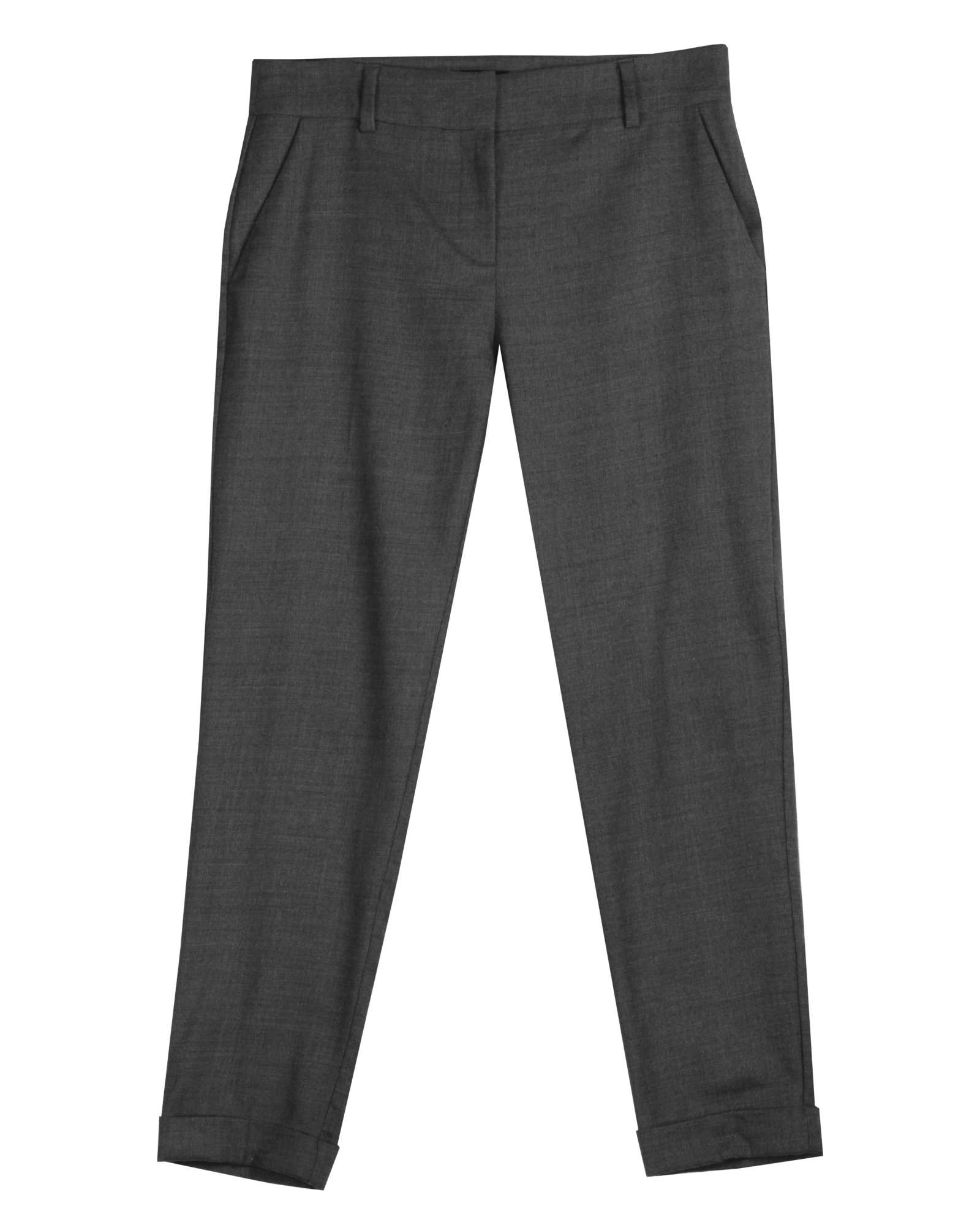 Heathered Stretch Flannel Twill Pant
