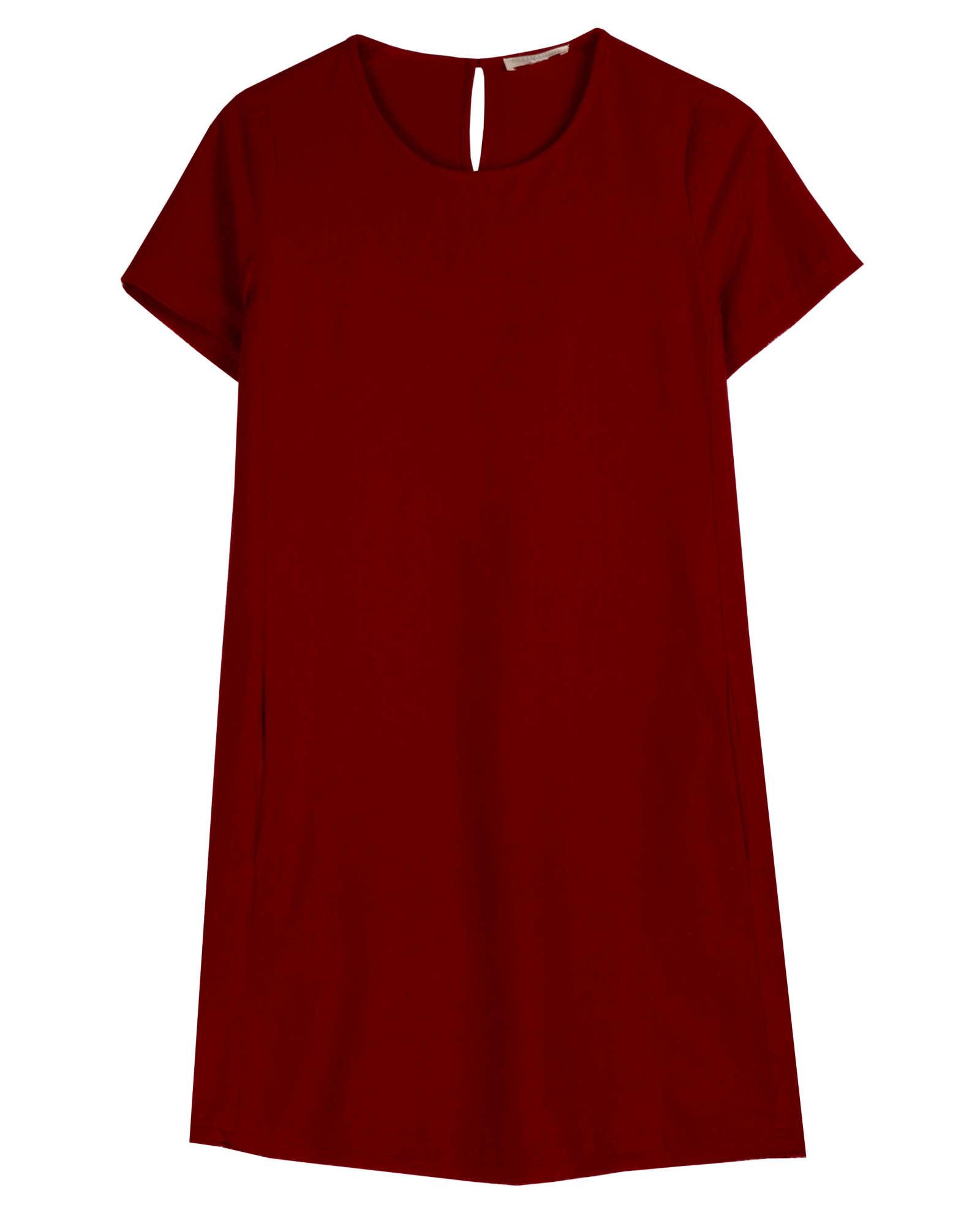 Silk Noil Dress