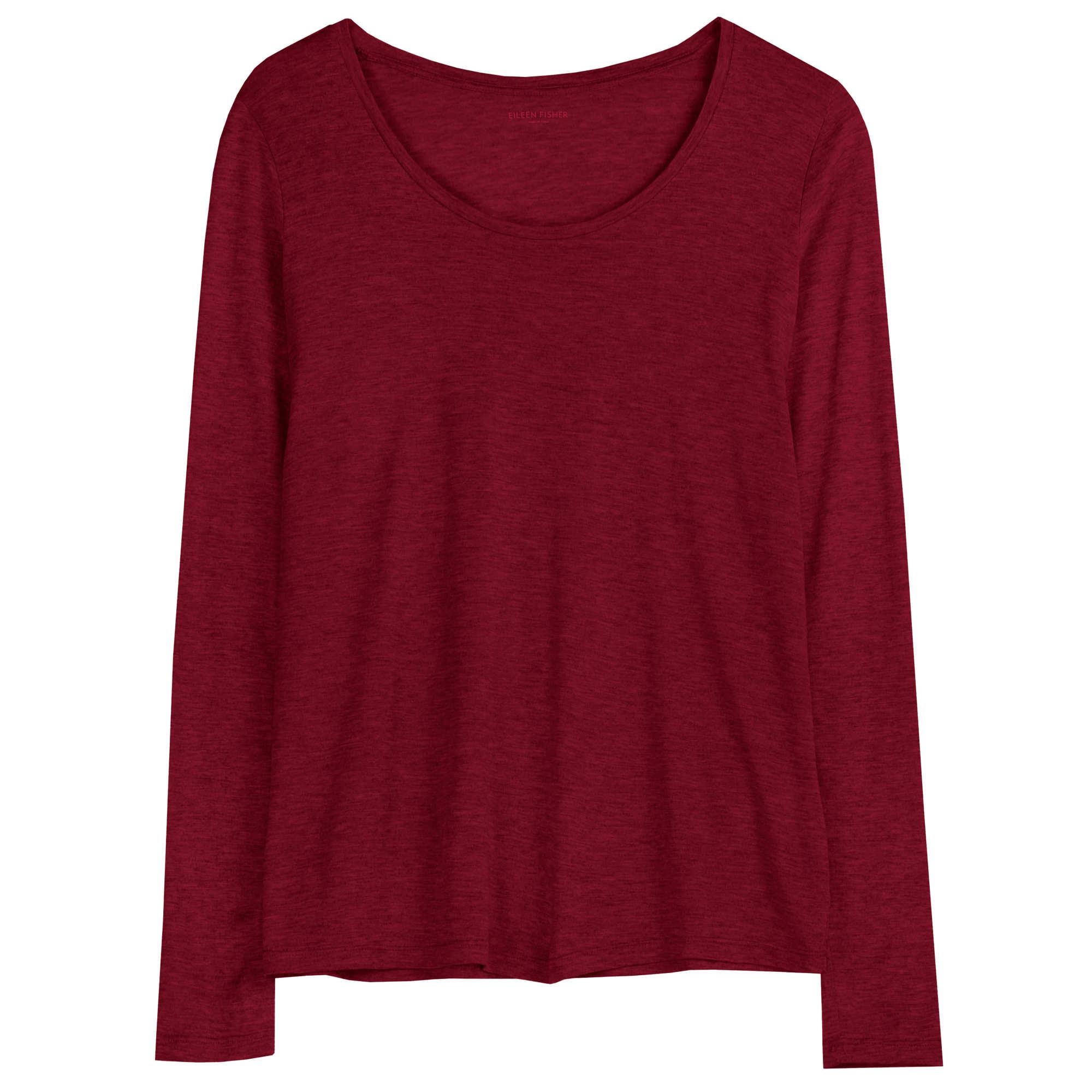 Silk Cotton Jersey Blouse