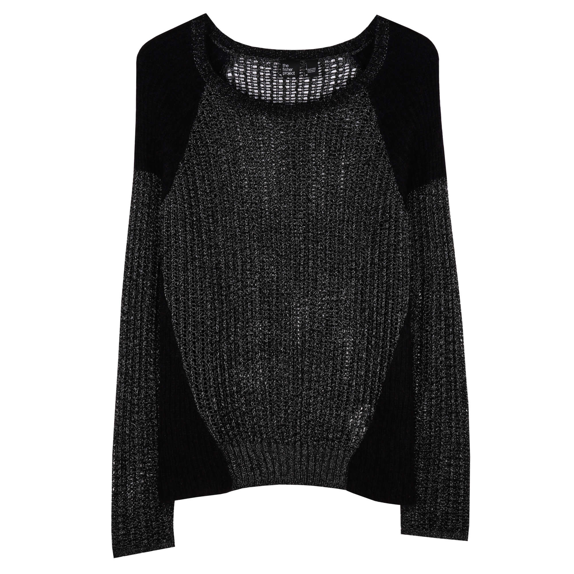 Tarnished Textures Pullover
