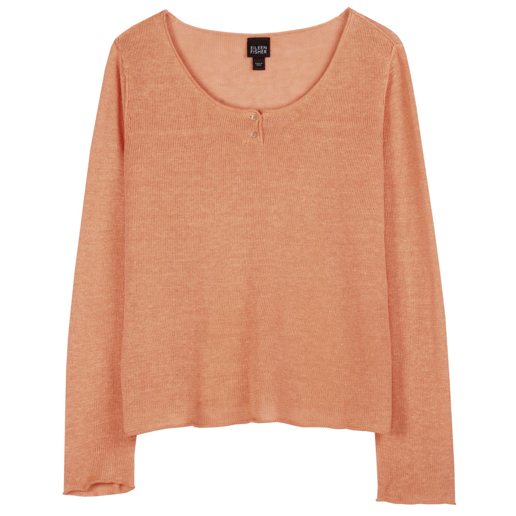 Fine Gauge Linen Pullover