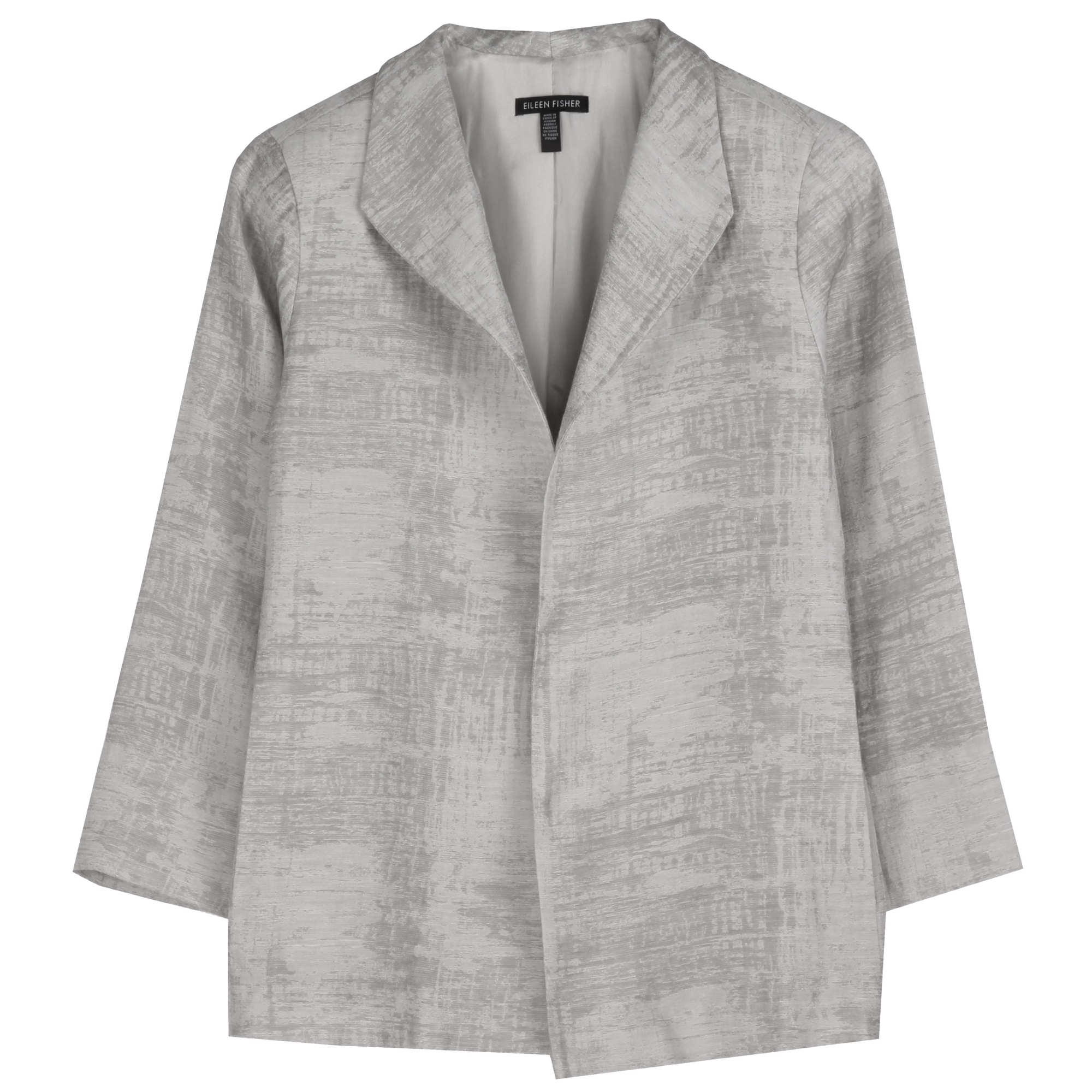 Luminous Cotton Linen Jacket