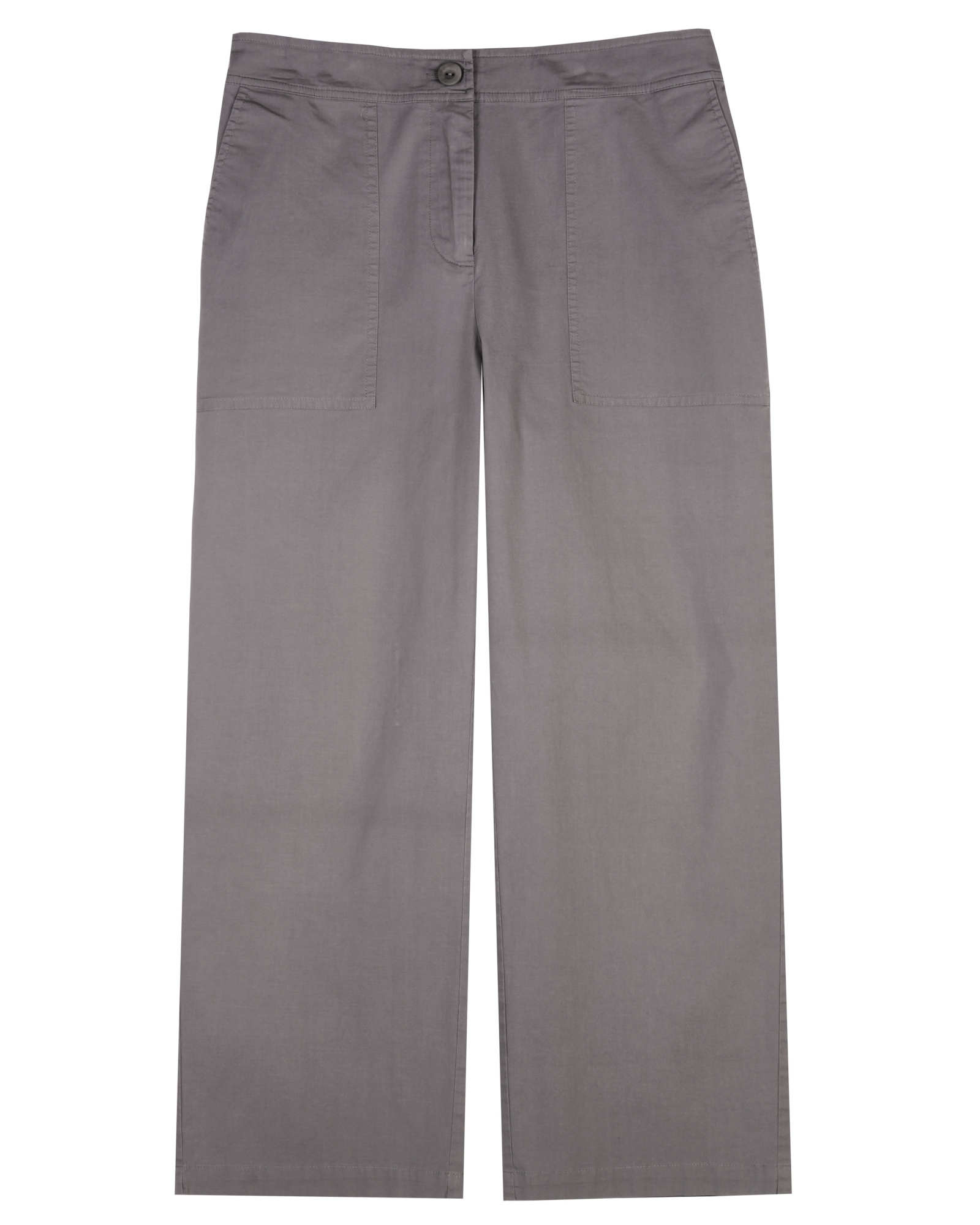 Organic Cotton Stretch Poplin Pant