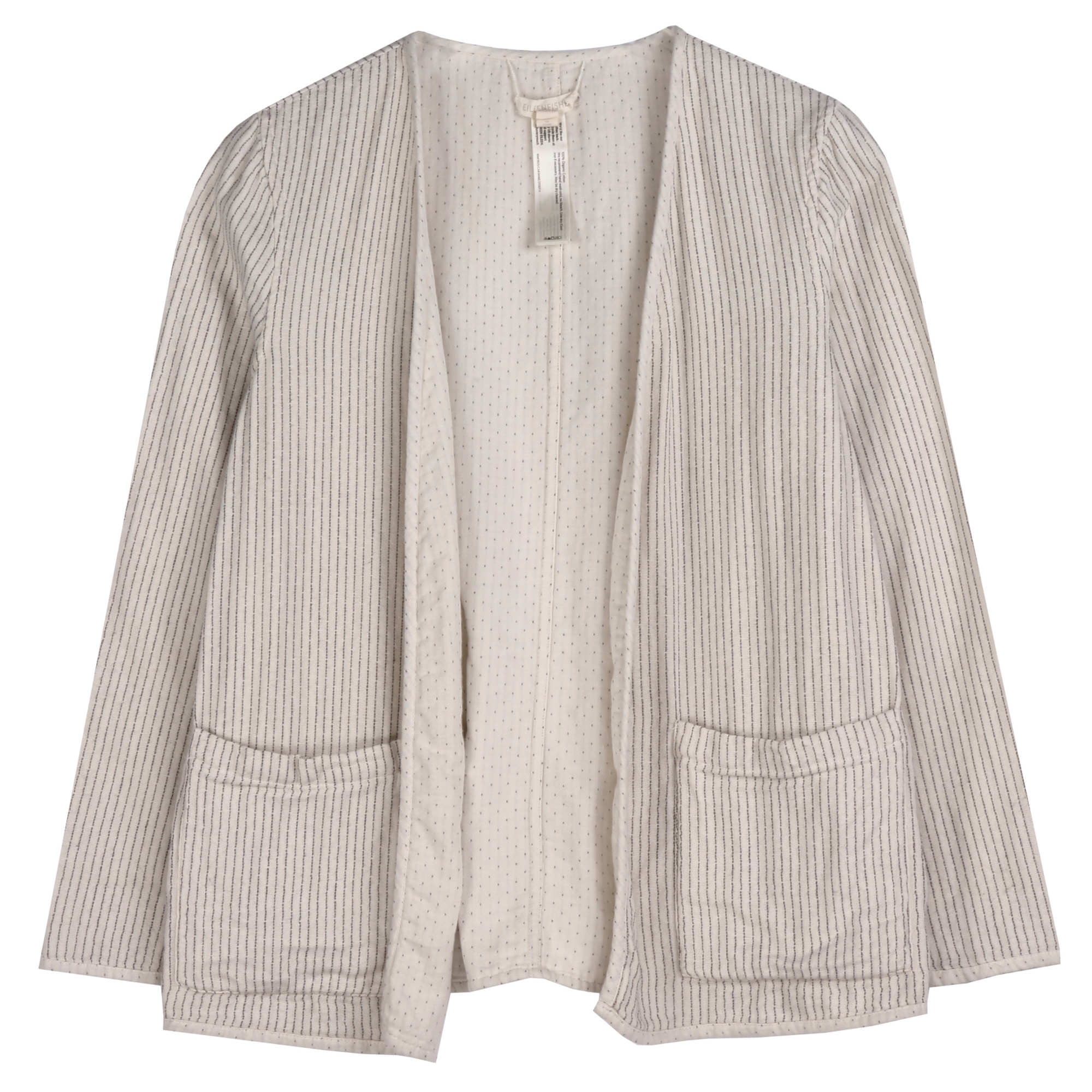 Reversible Organic Cotton Doubleweave Jacket