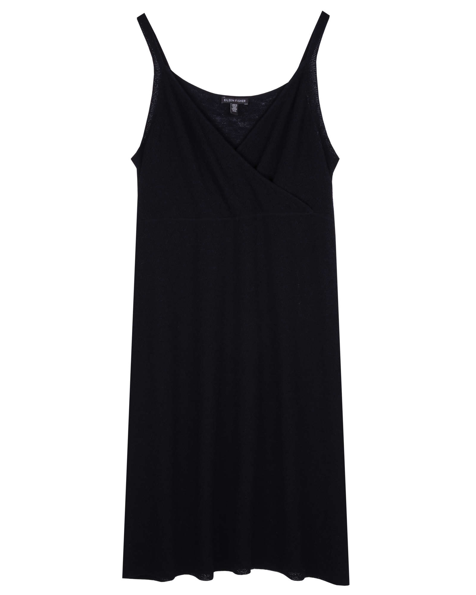 Washable Wool Fine Crepe Dress