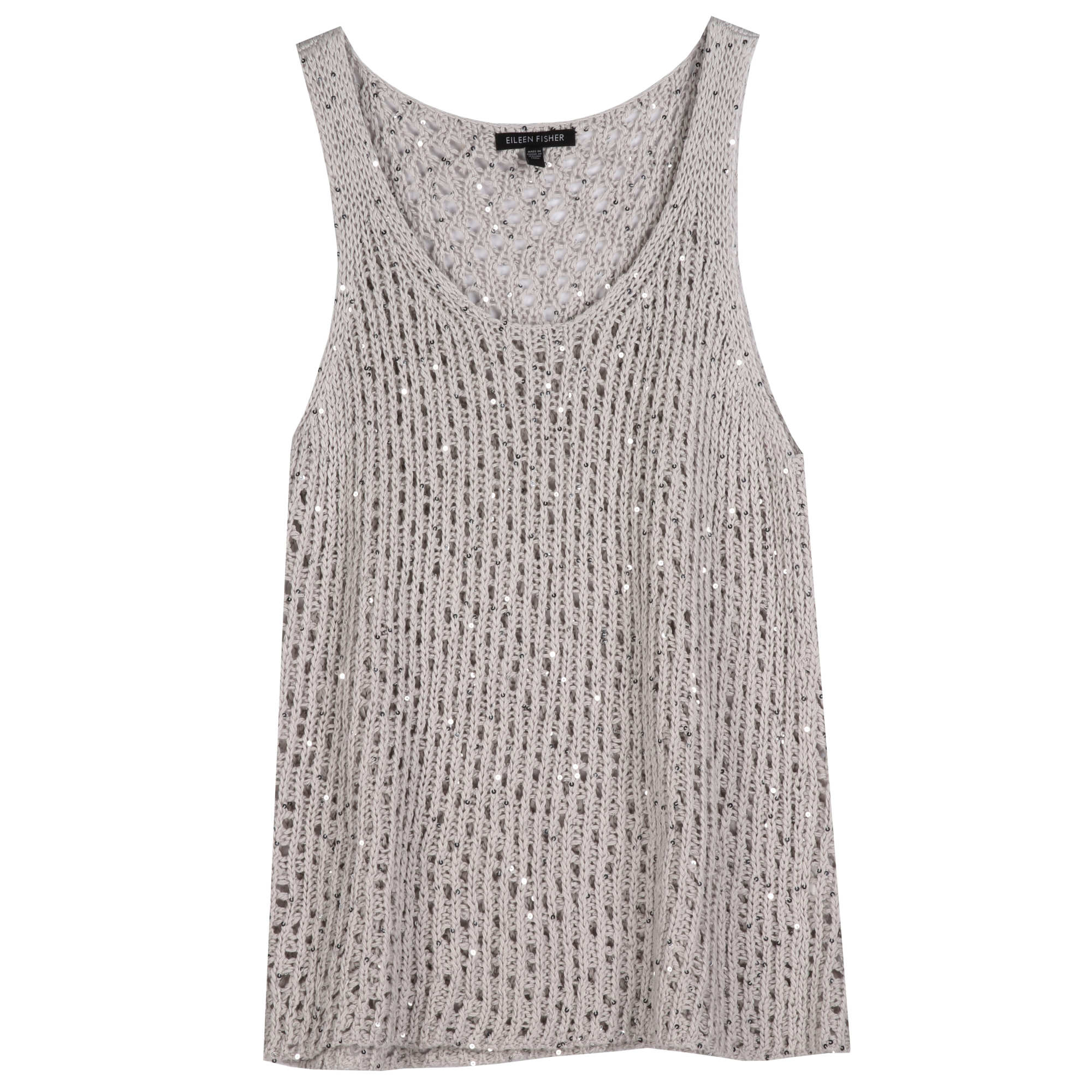 Sequins Chainmail Mesh Tank