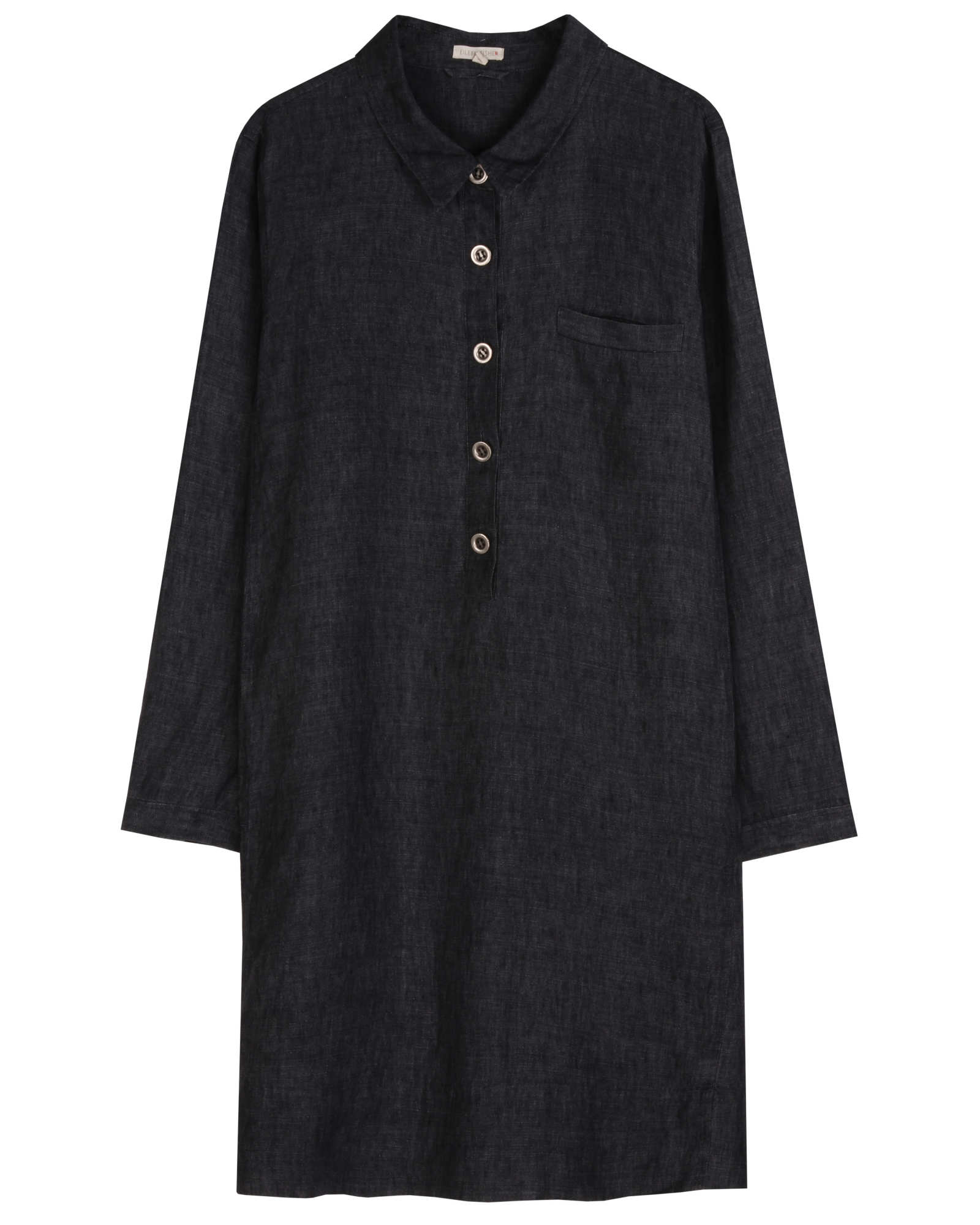 Washed Delave Linen Dress