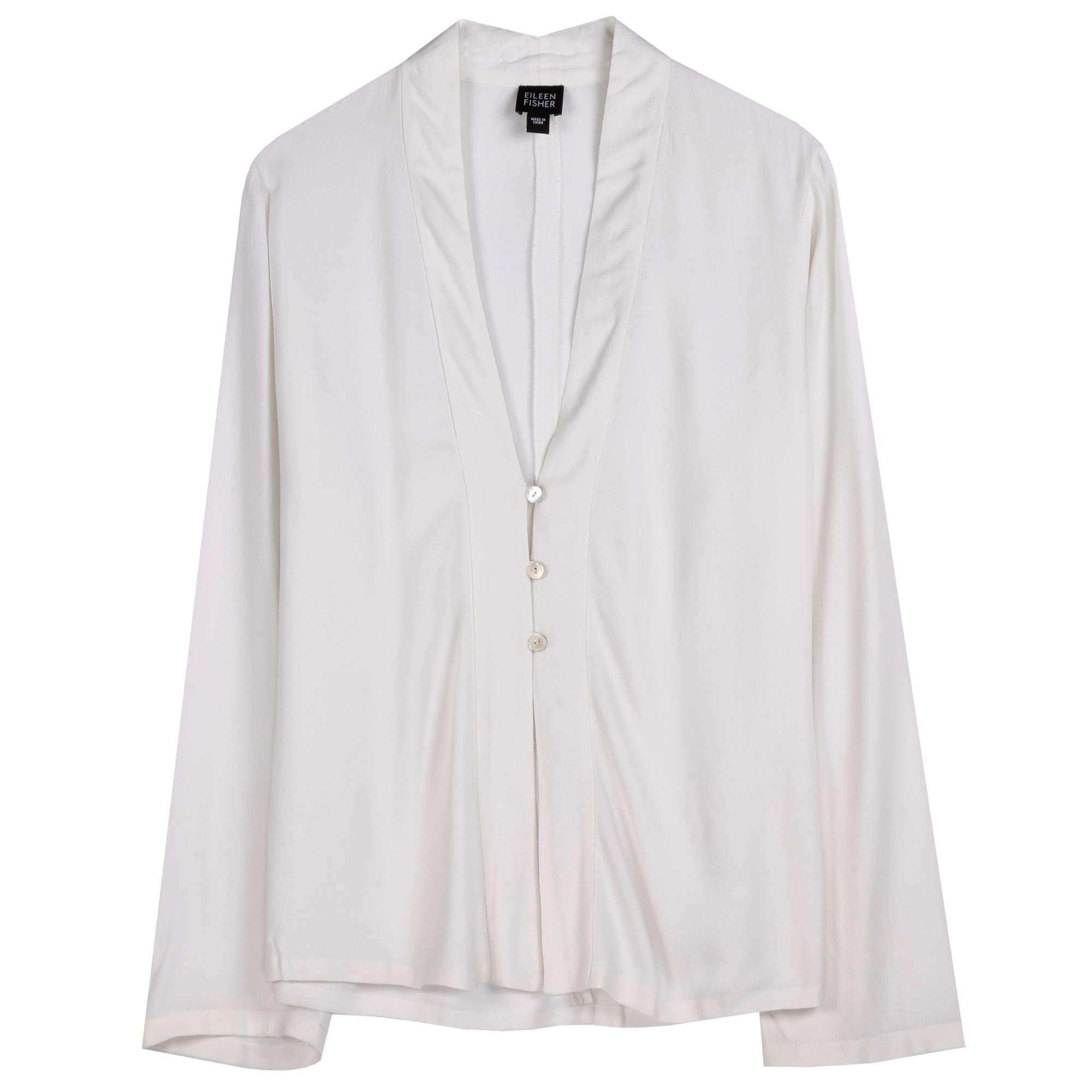 Crinkle Rayon Jacket