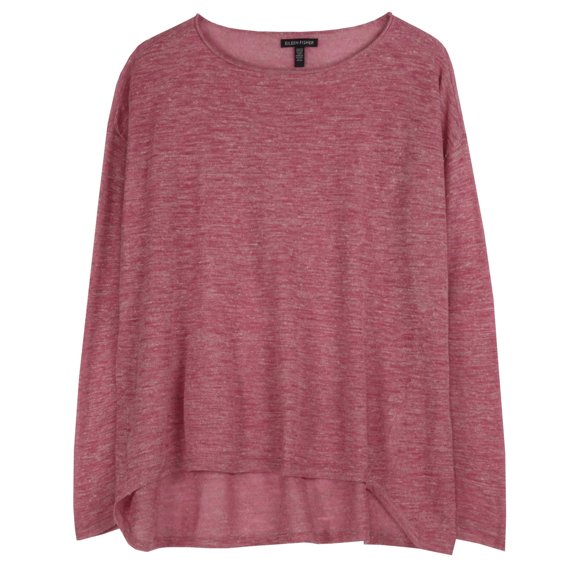 Linen Speckle Knit Pullover