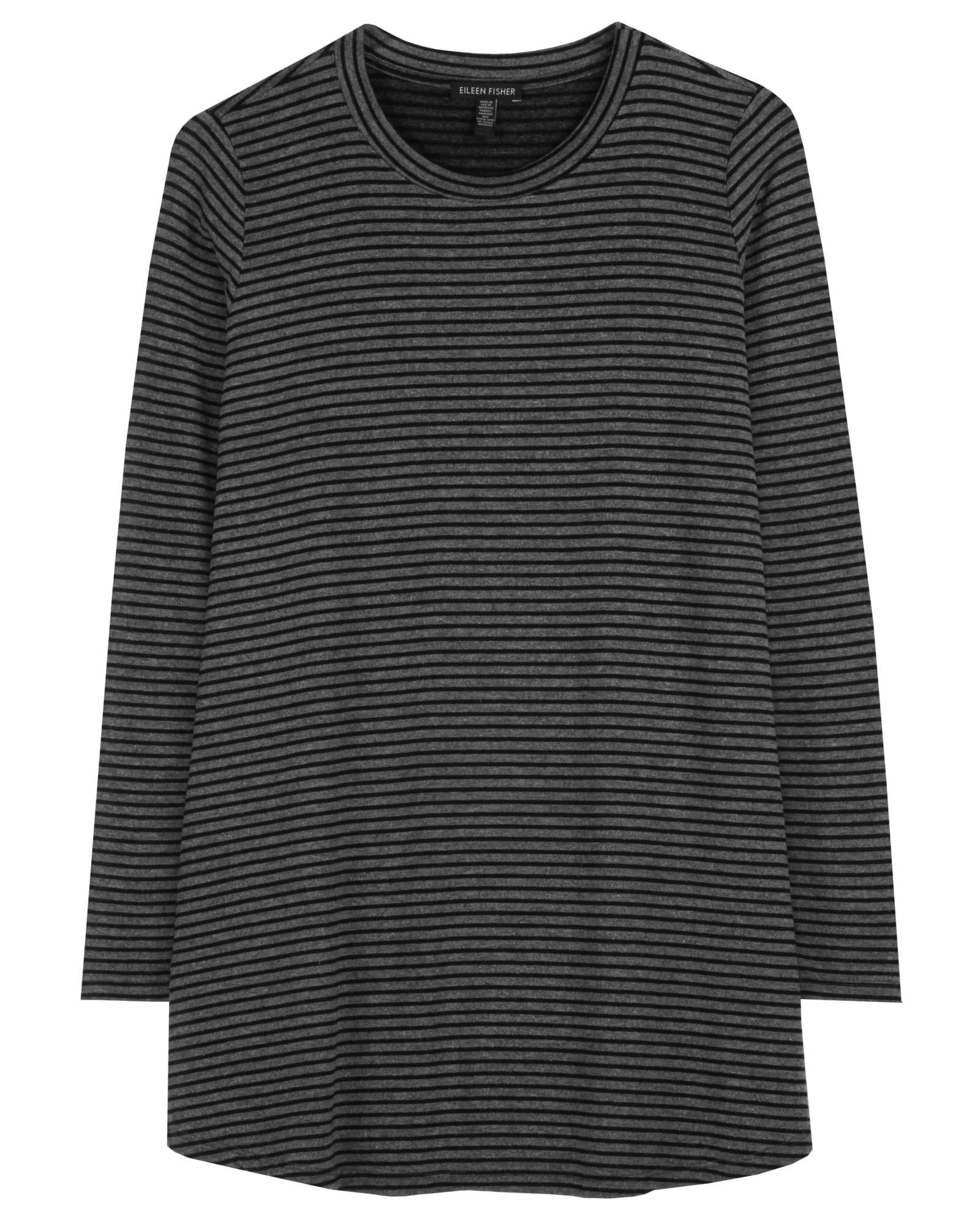 Tencel Stretch Terry Stripe Tee