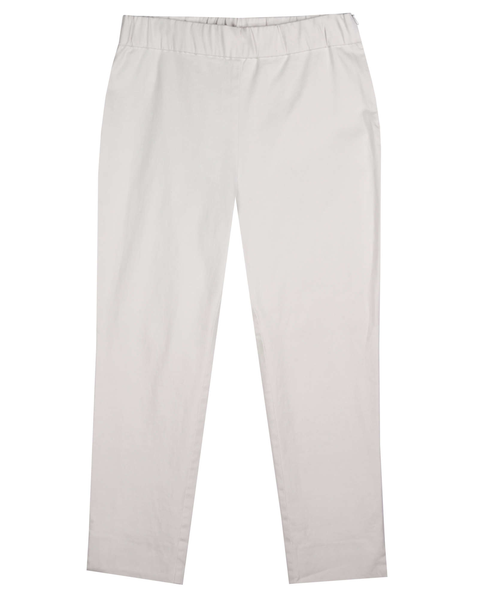 Sueded Stretch Organic Cotton Sateen Pant