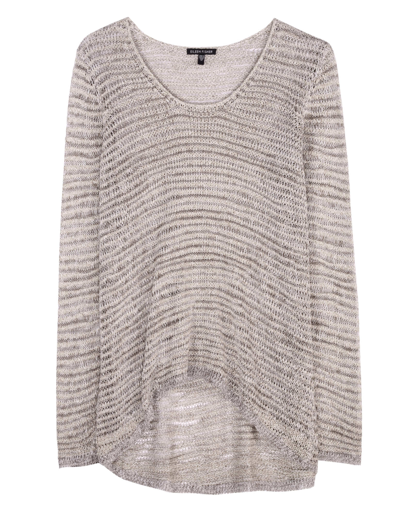 Sparkle Links Shadow Stripe Pullover