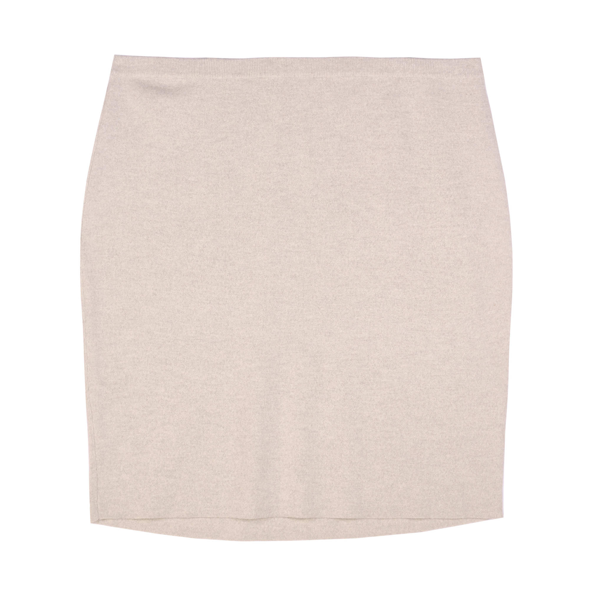 Washable Wool Crepe Skirt