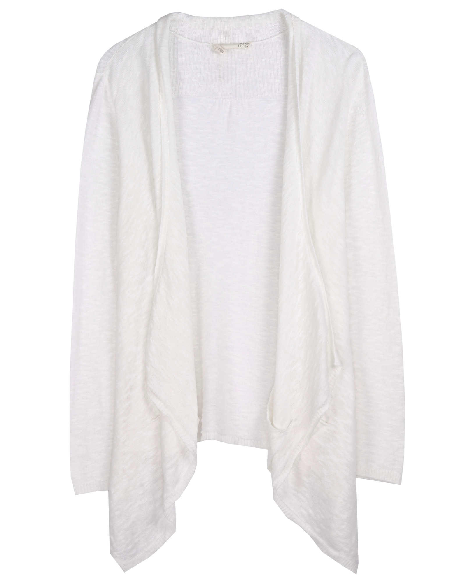 Linen Cotton Slub Cardigan