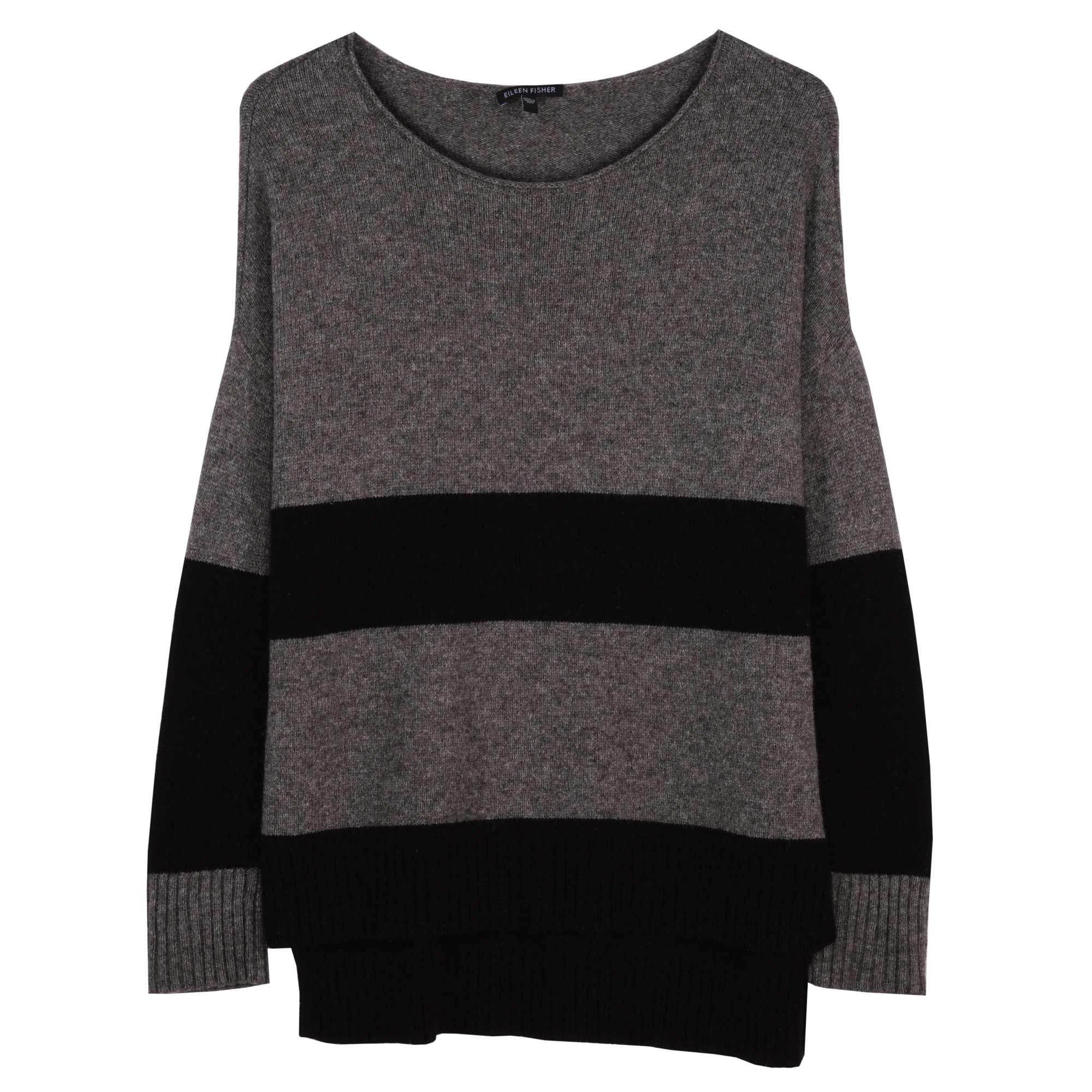 Supersoft Yak & Merino Wide Stripe Pullover