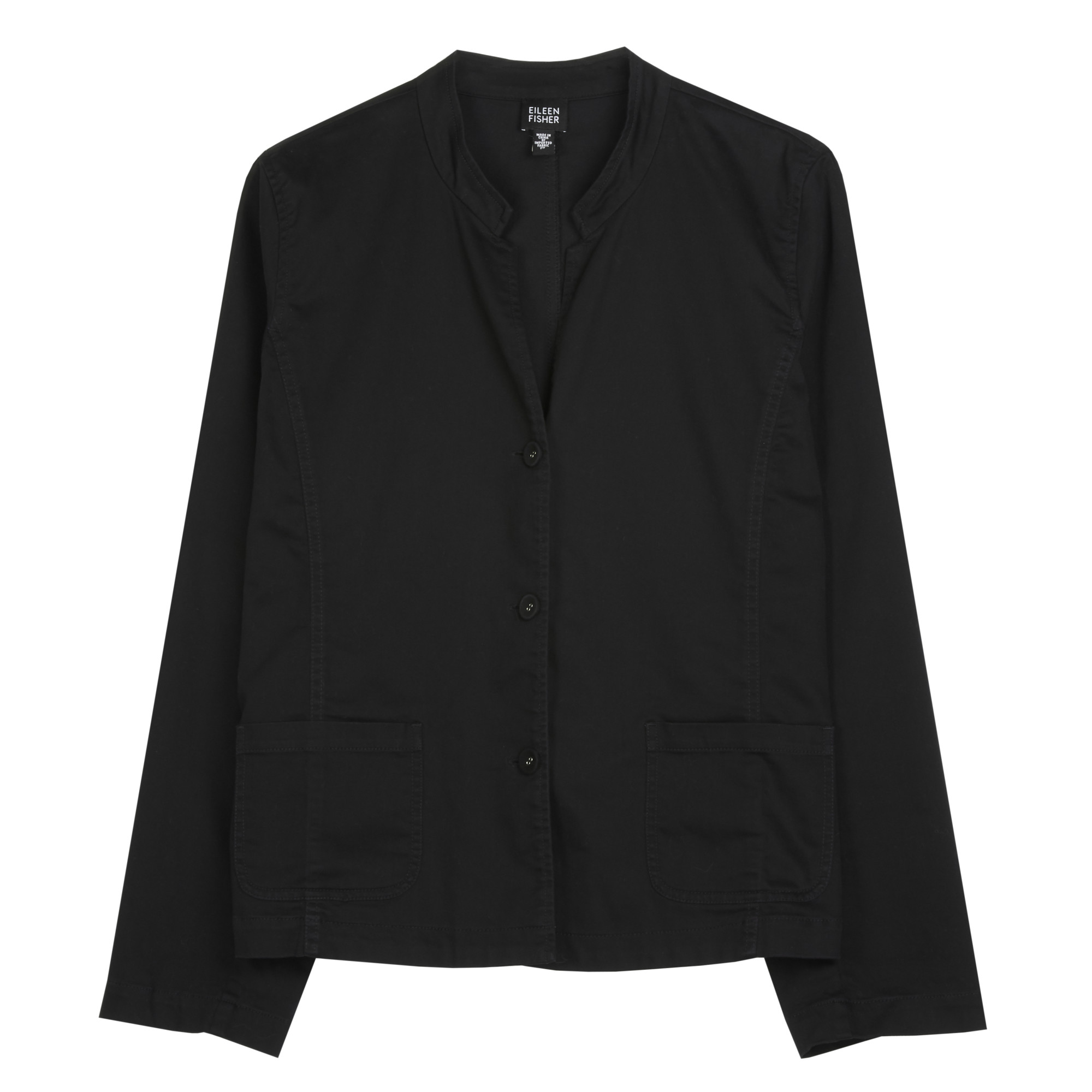 Washed Stretch Cotton Jacket