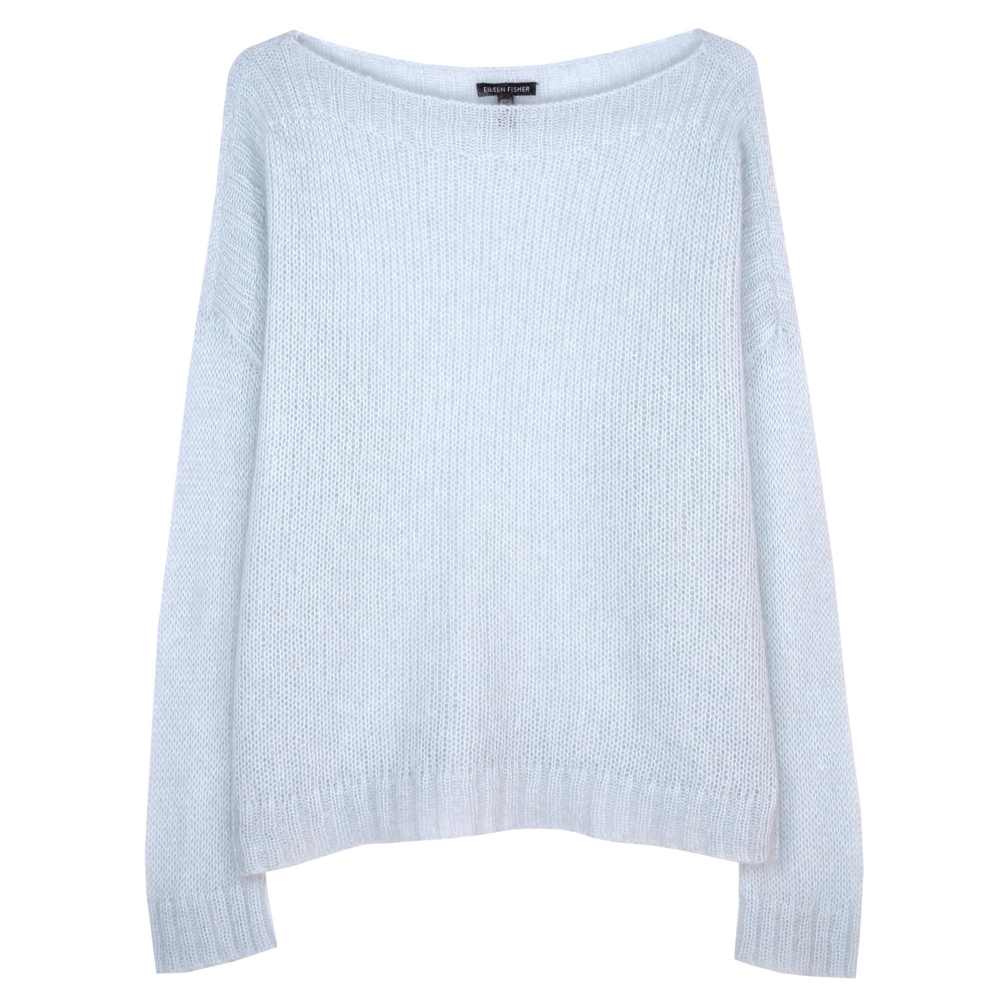 Airy Washed Mohair Pullover