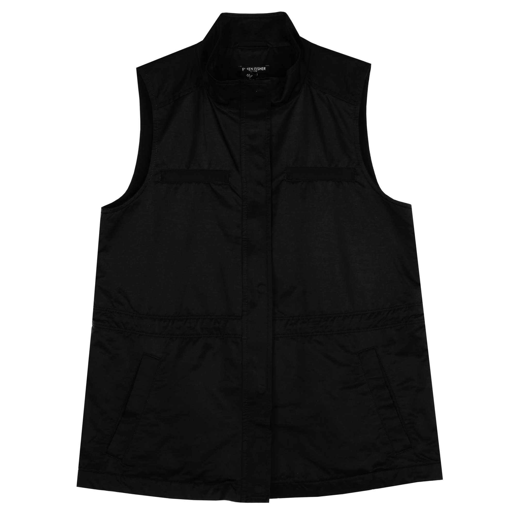 Organic Cotton Nylon Outerwear Vest
