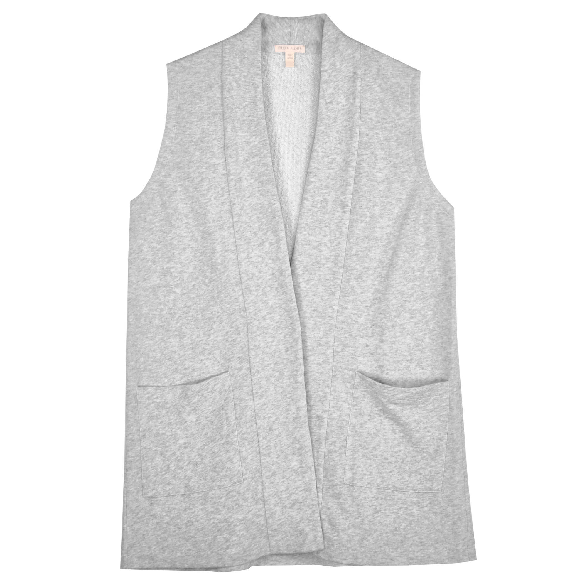 Twisted Loop Organic Cotton Terry Vest