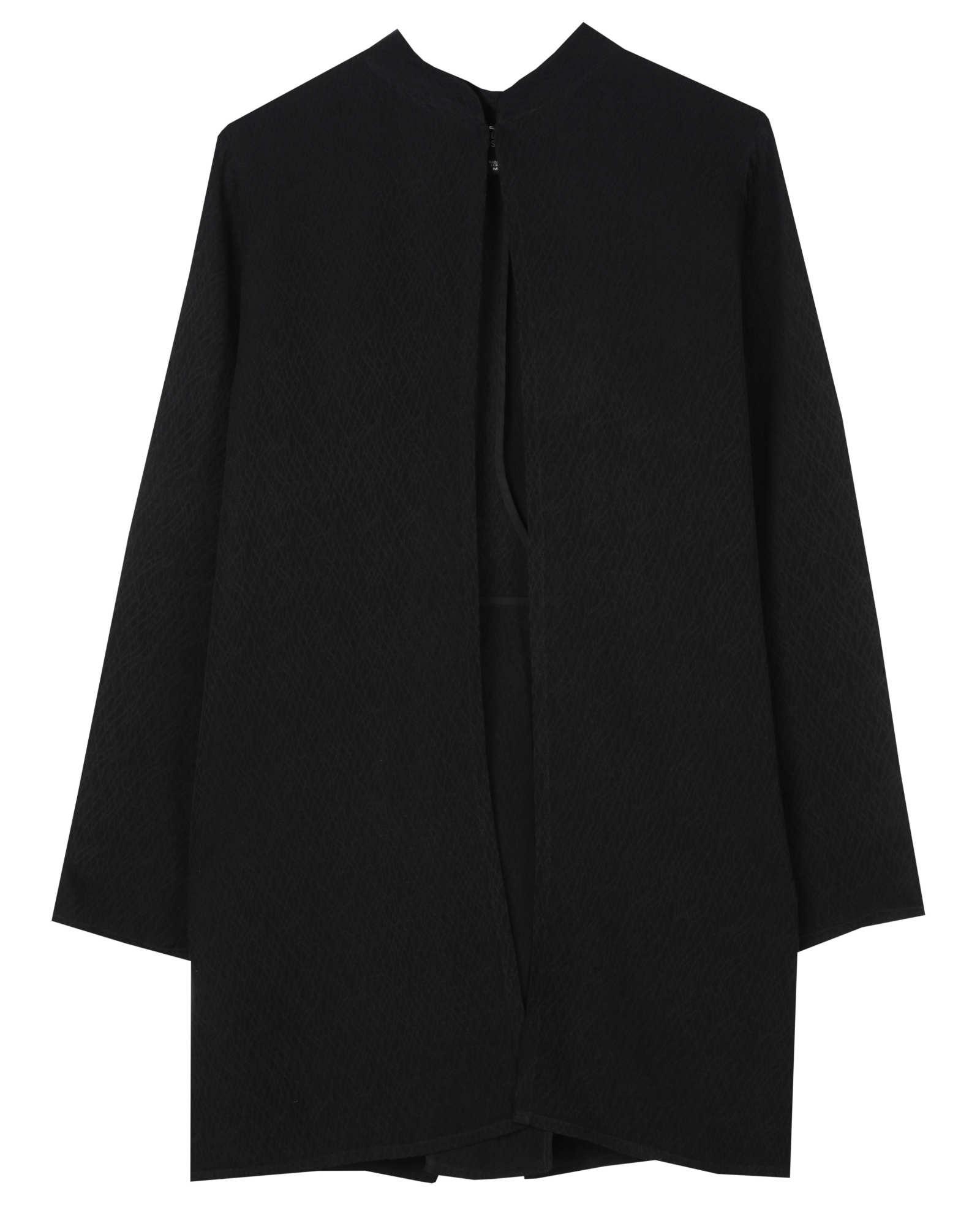 Silk Linen Jacquard Jacket