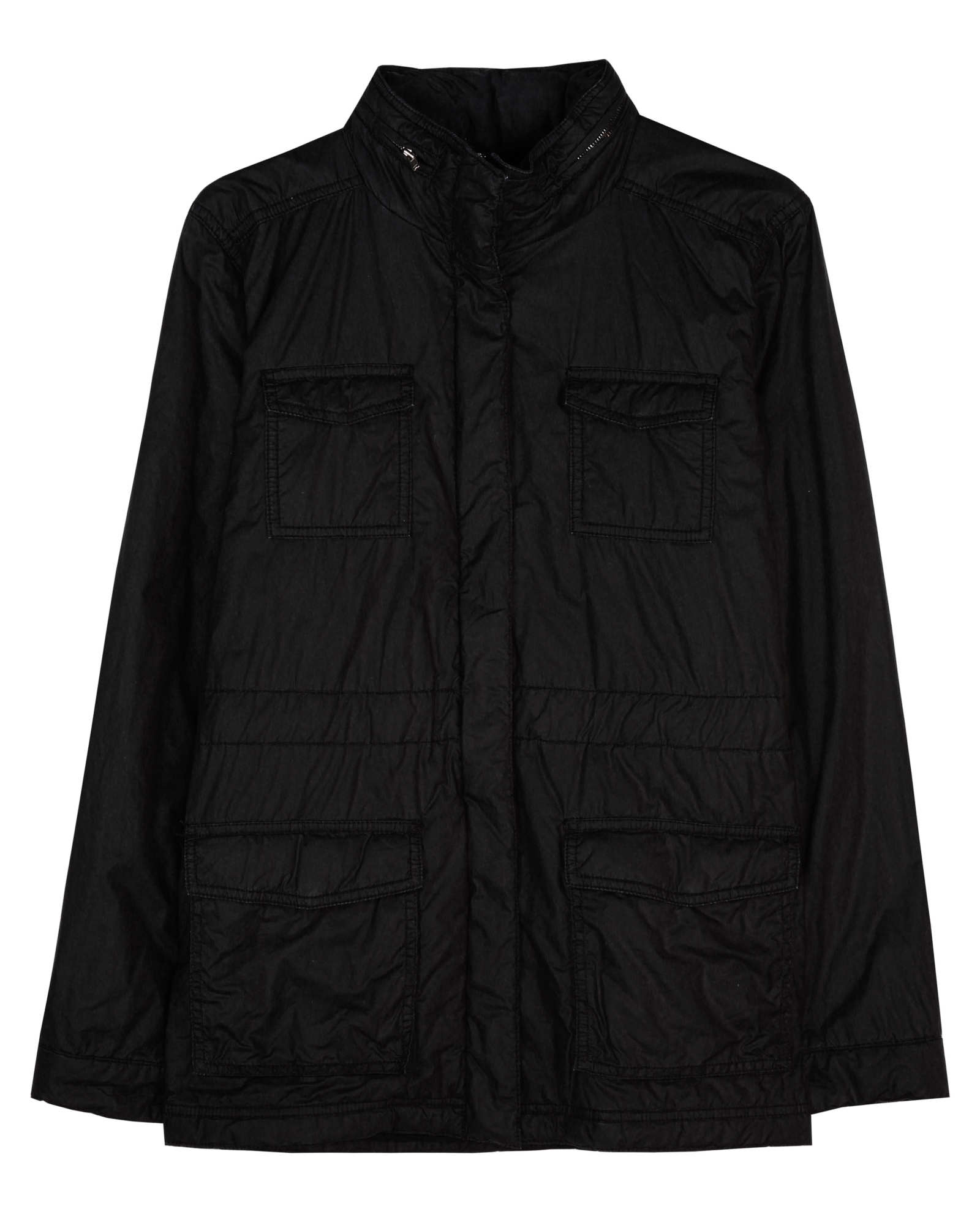 Padded Washed Cotton Jacket