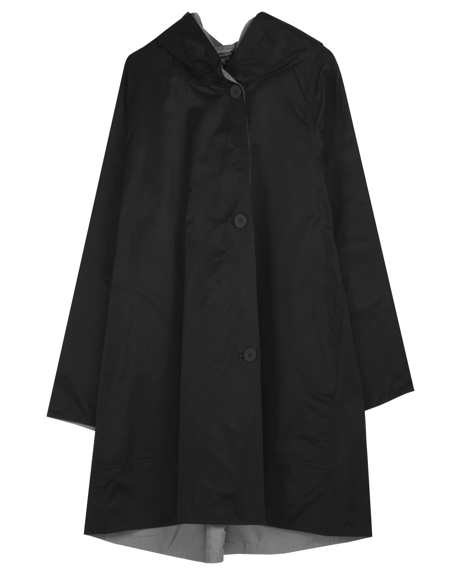 Reversible Organic Cotton Nylon Sheen Jacket