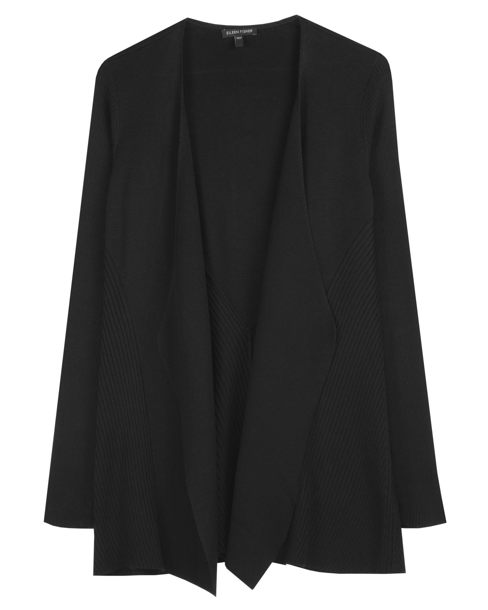 Silk Cotton Interlock Cardigan