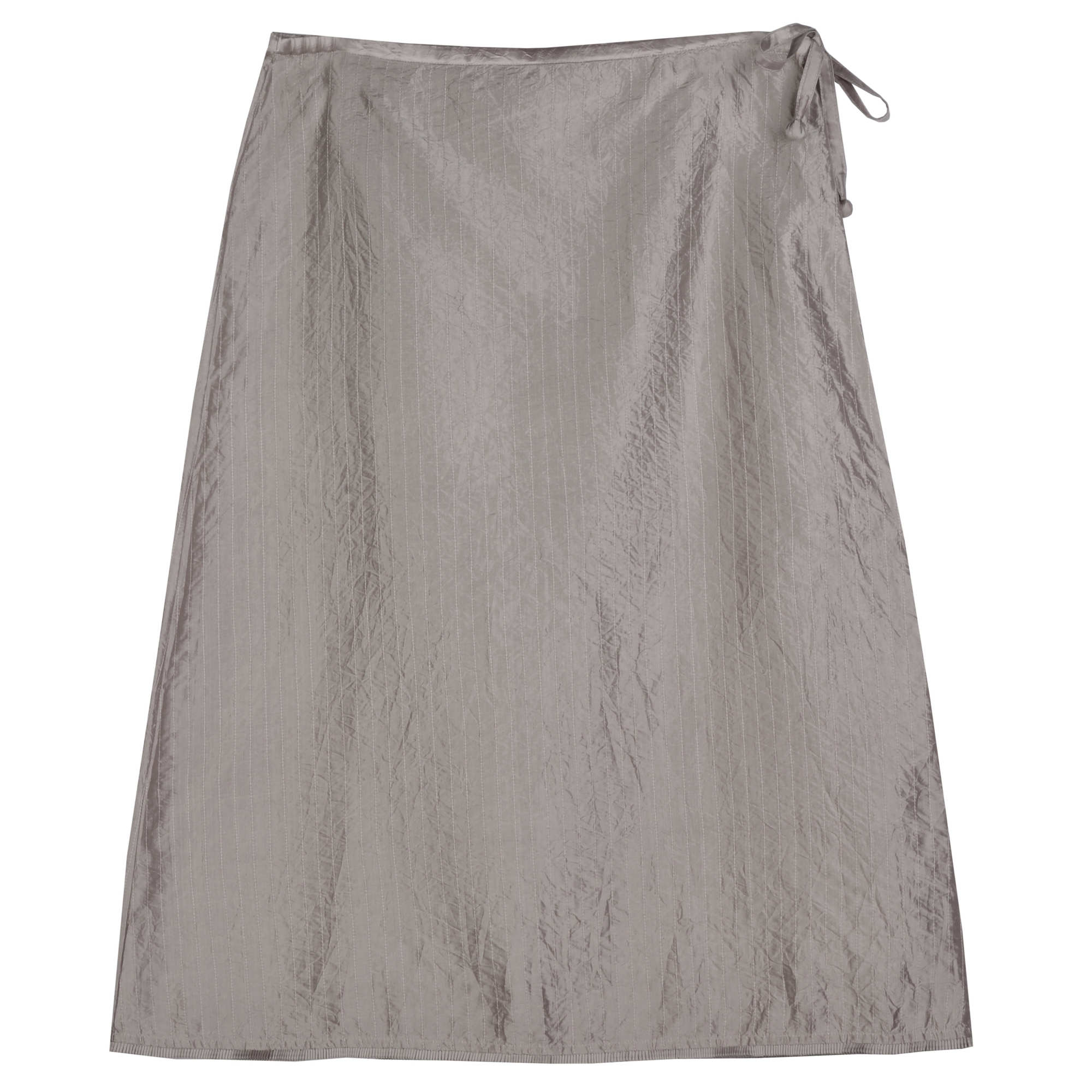 Washed Silk Taffeta Skirt