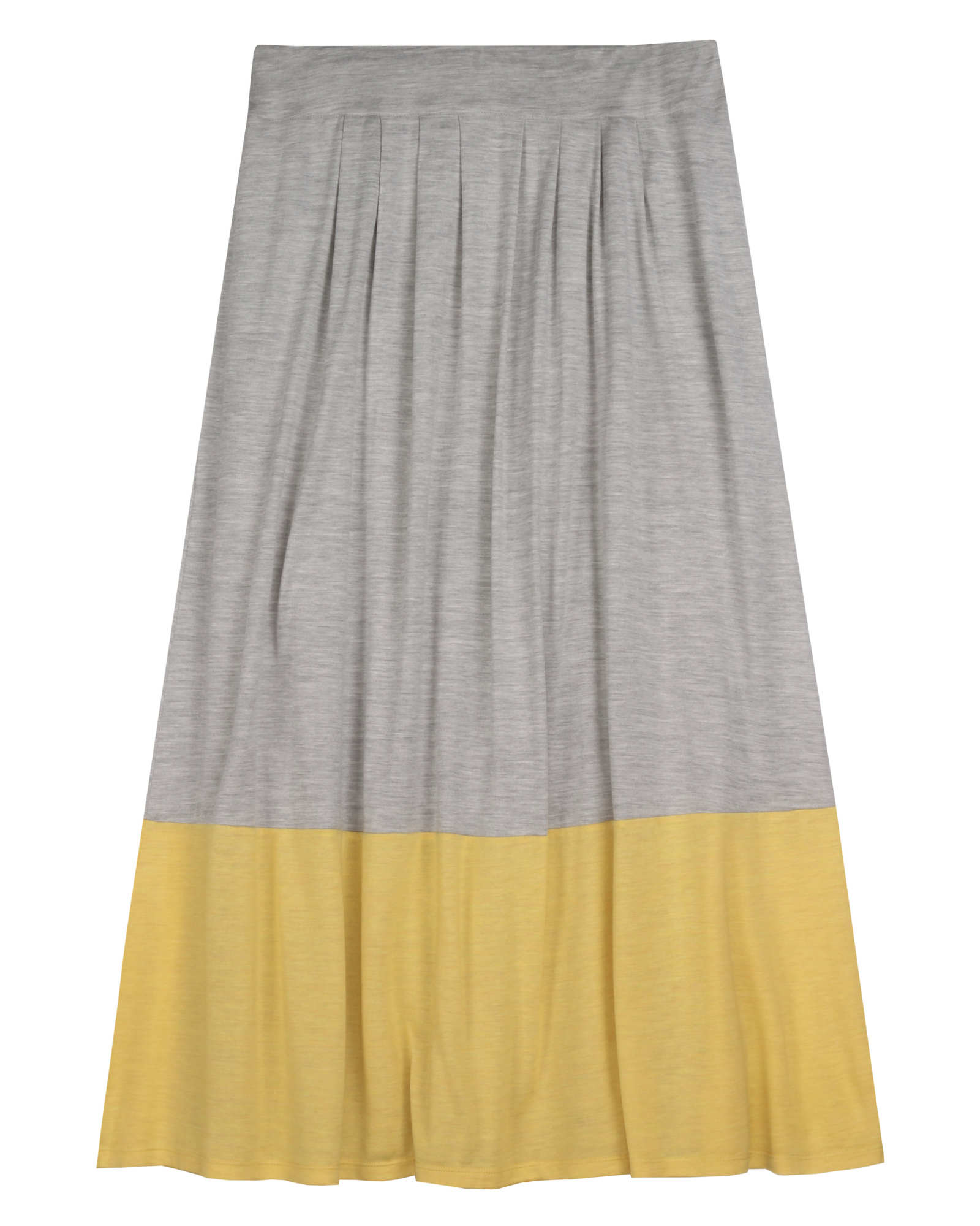 Silk Cotton Jersey Skirt