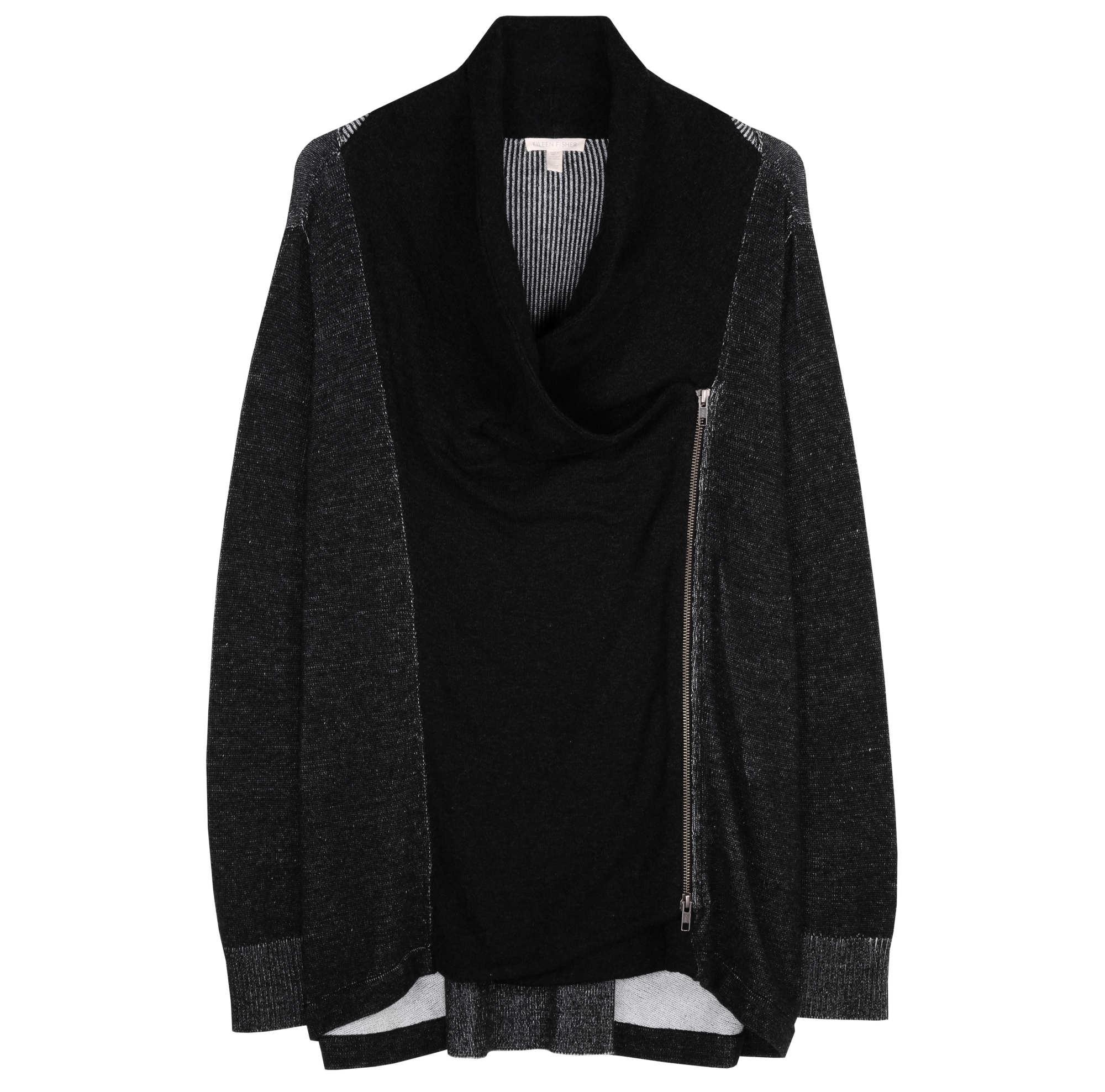 Peruvian Plaited Organic Cotton Jacket