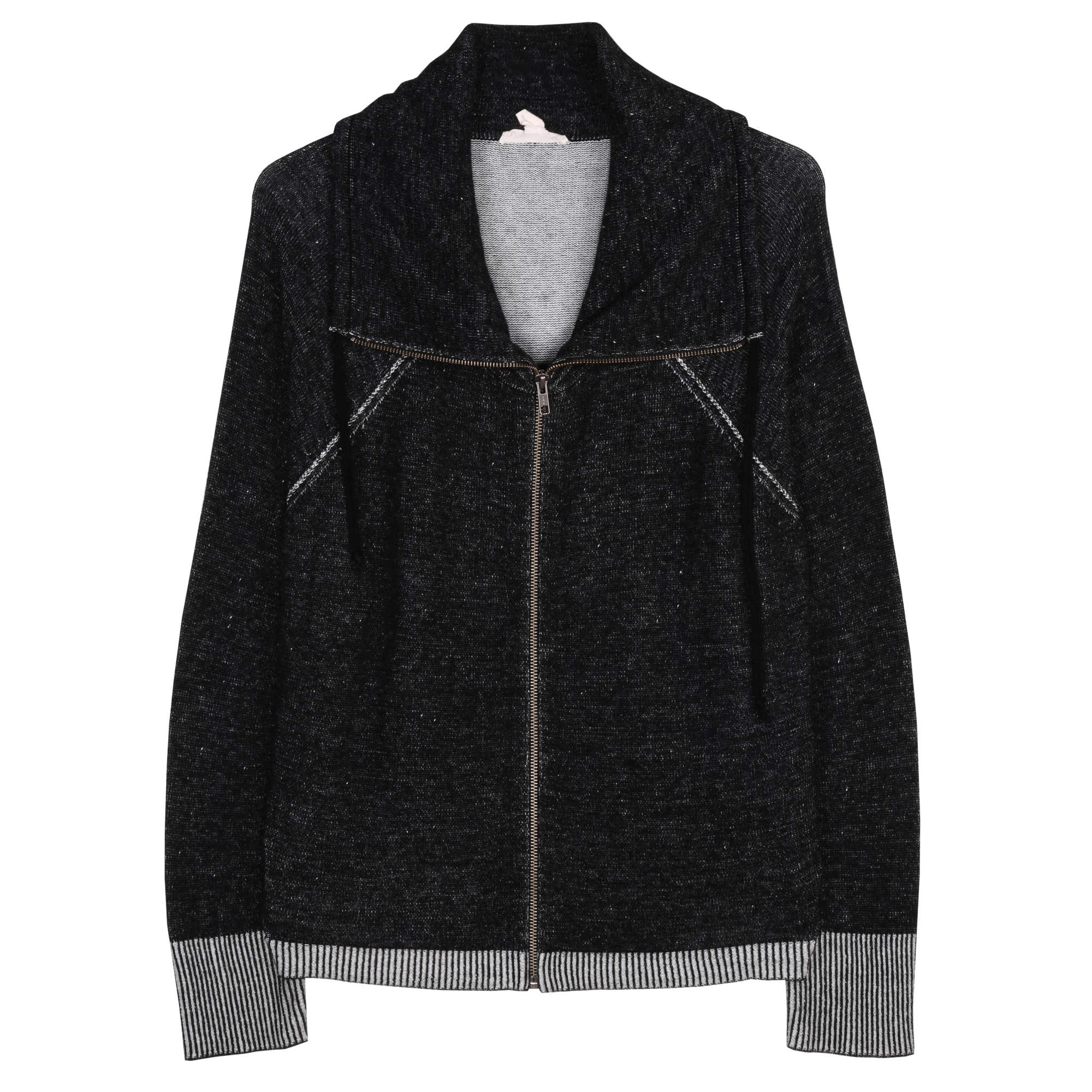 Peruvian Plaited Organic Cotton Jacket