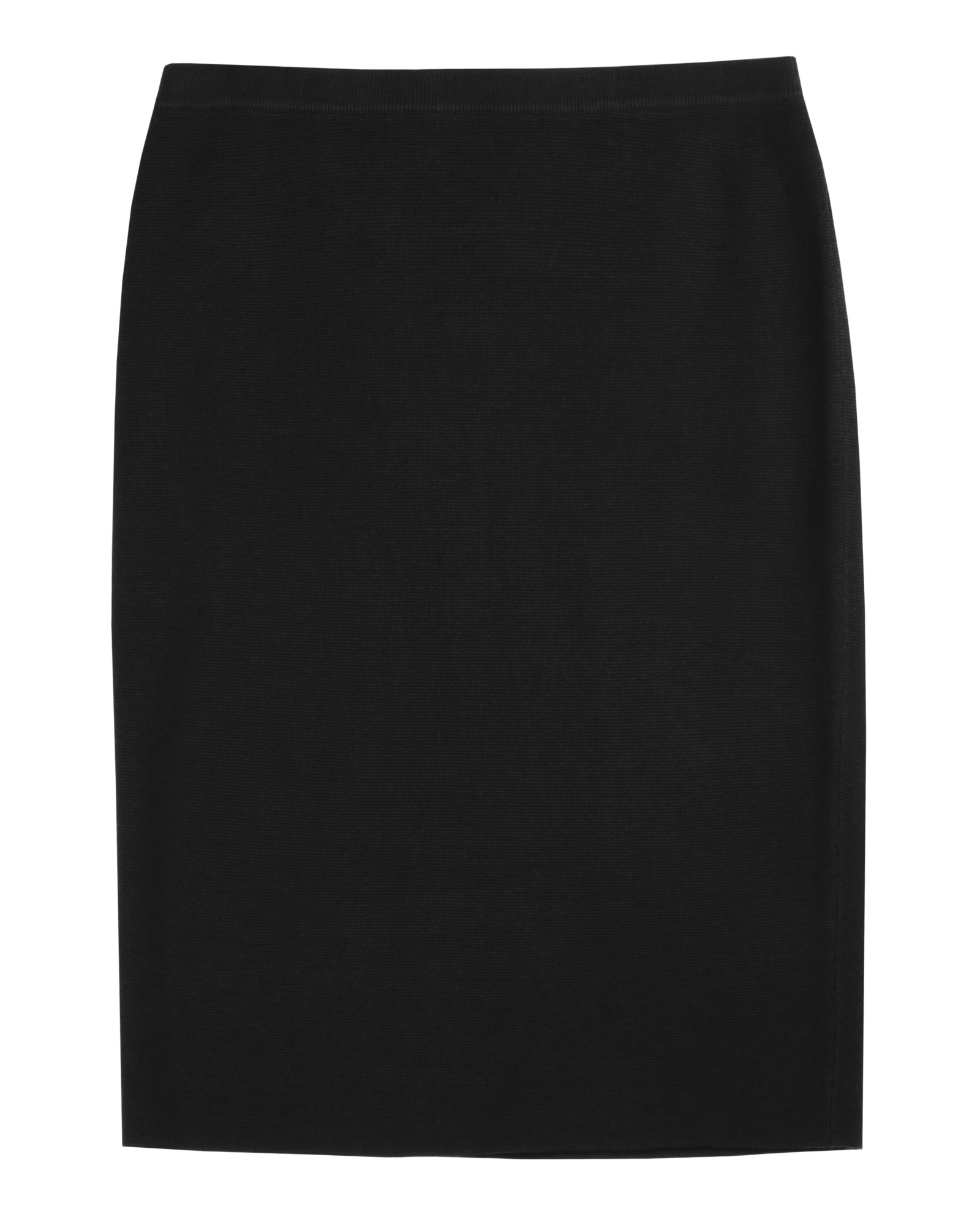 Merino Wool Rib Skirt