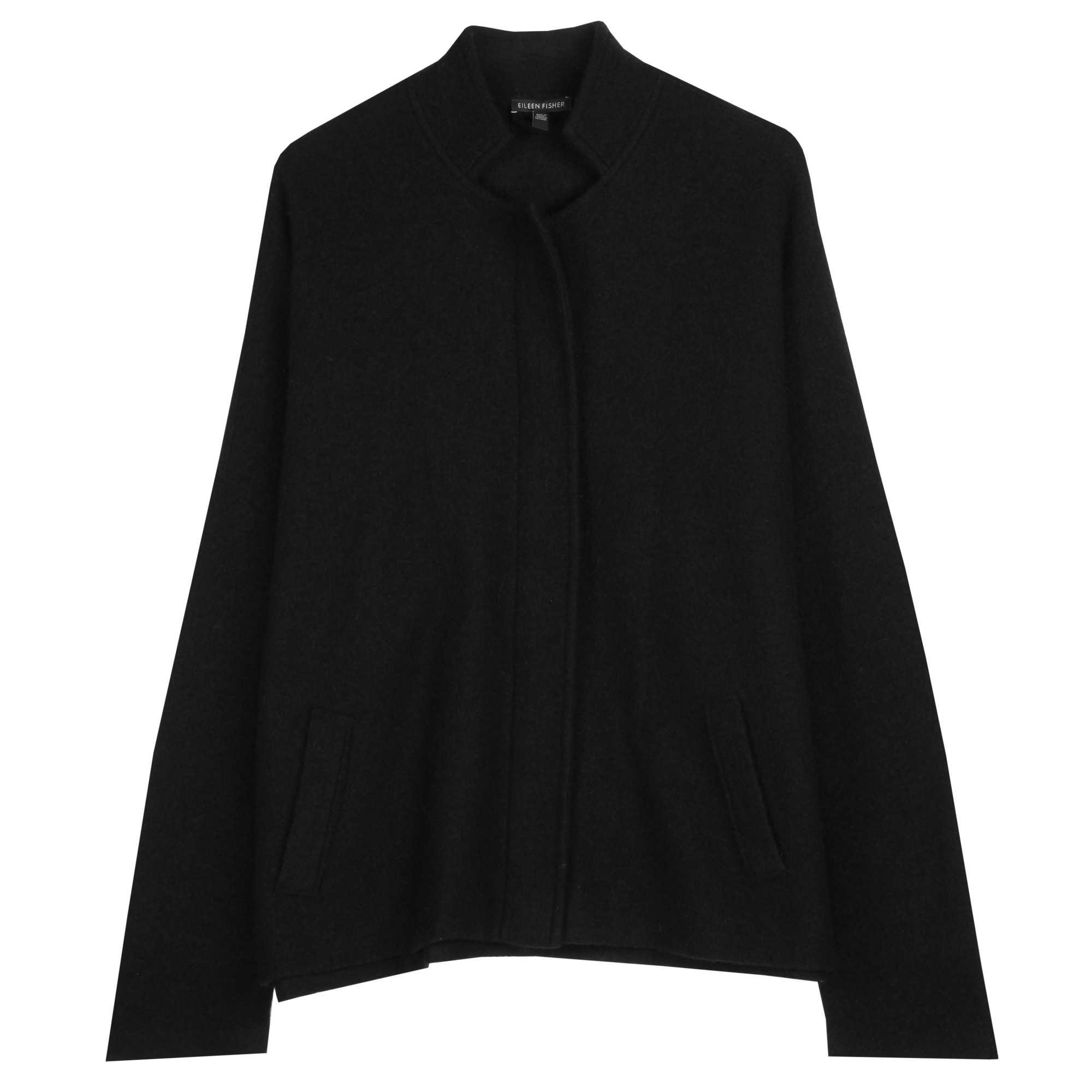 Lightweight Boiled Wool Jacket