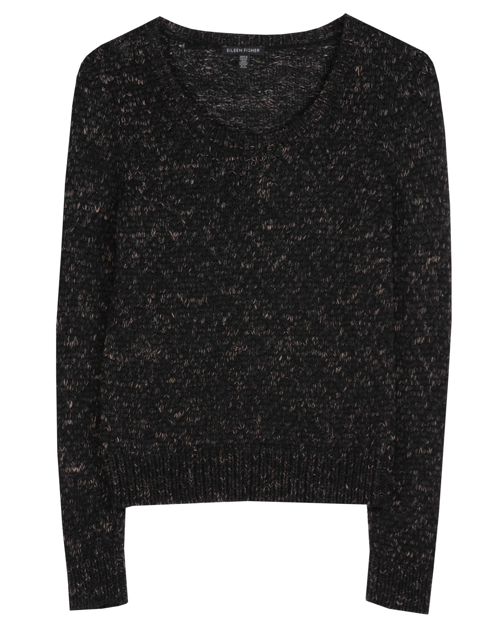 Soft Tinted Tape Twist Pullover