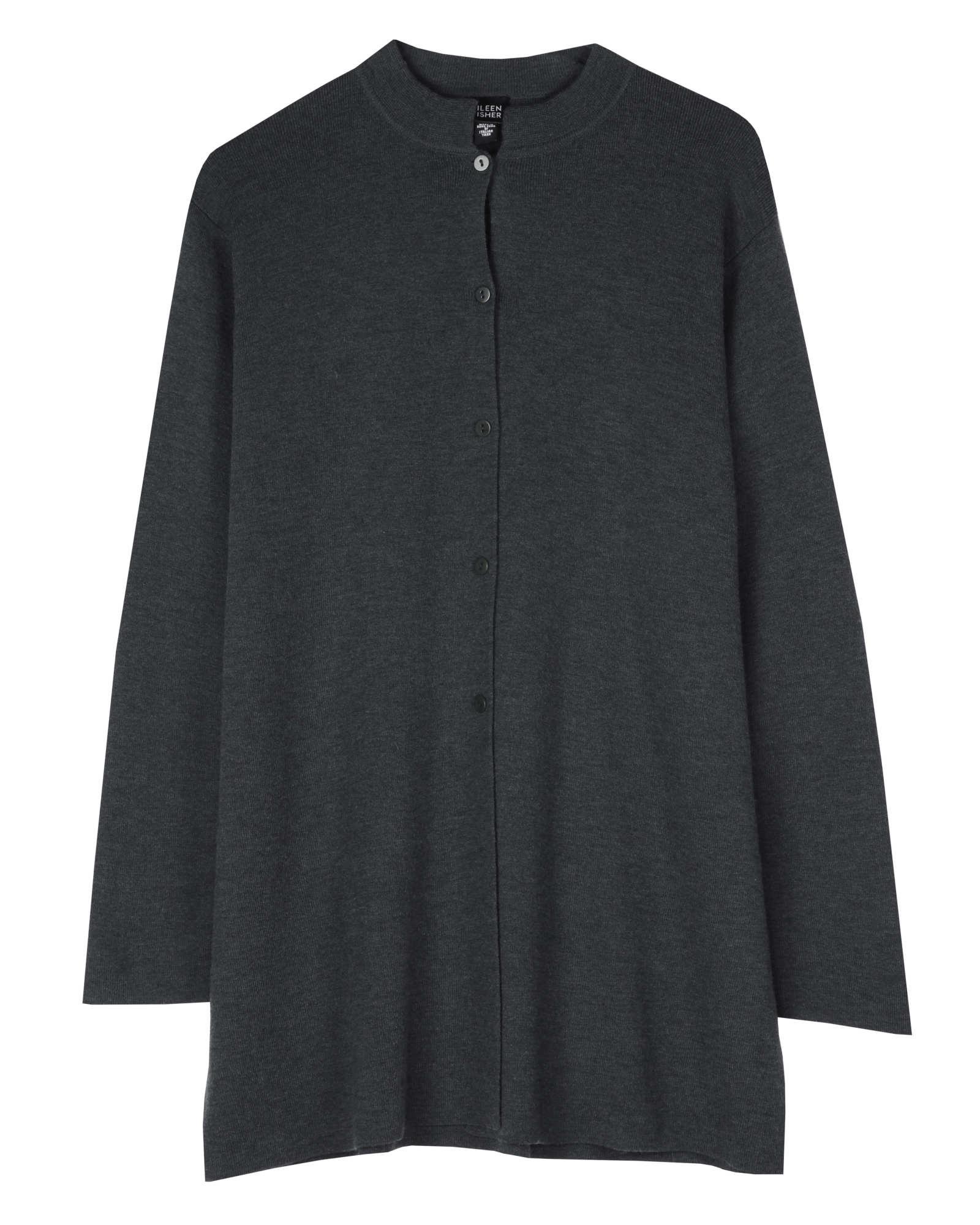 Washable Wool Crepe Jacket