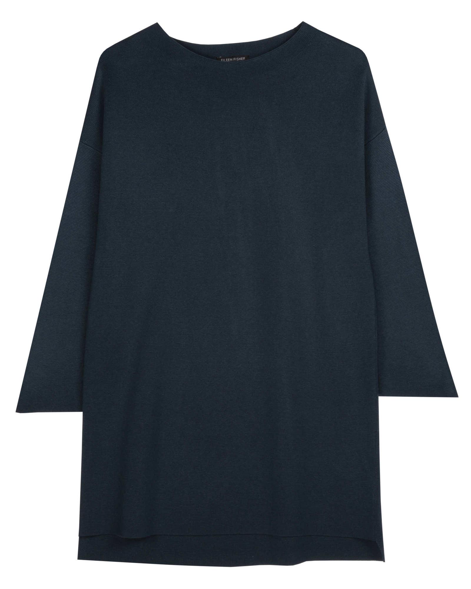 Silk Organic Cotton Interlock Pullover