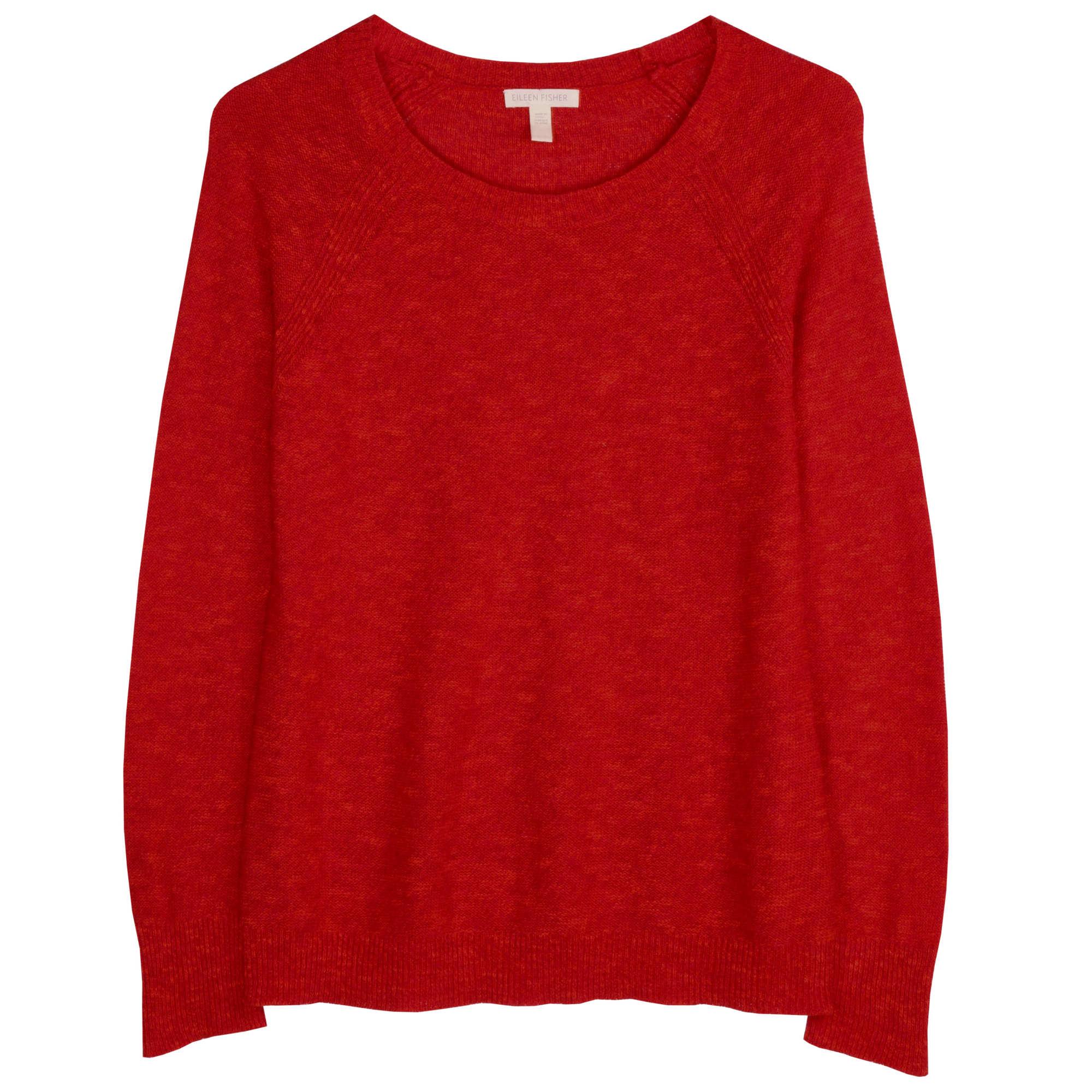 Organic Linen Cotton Slub Texture Pullover