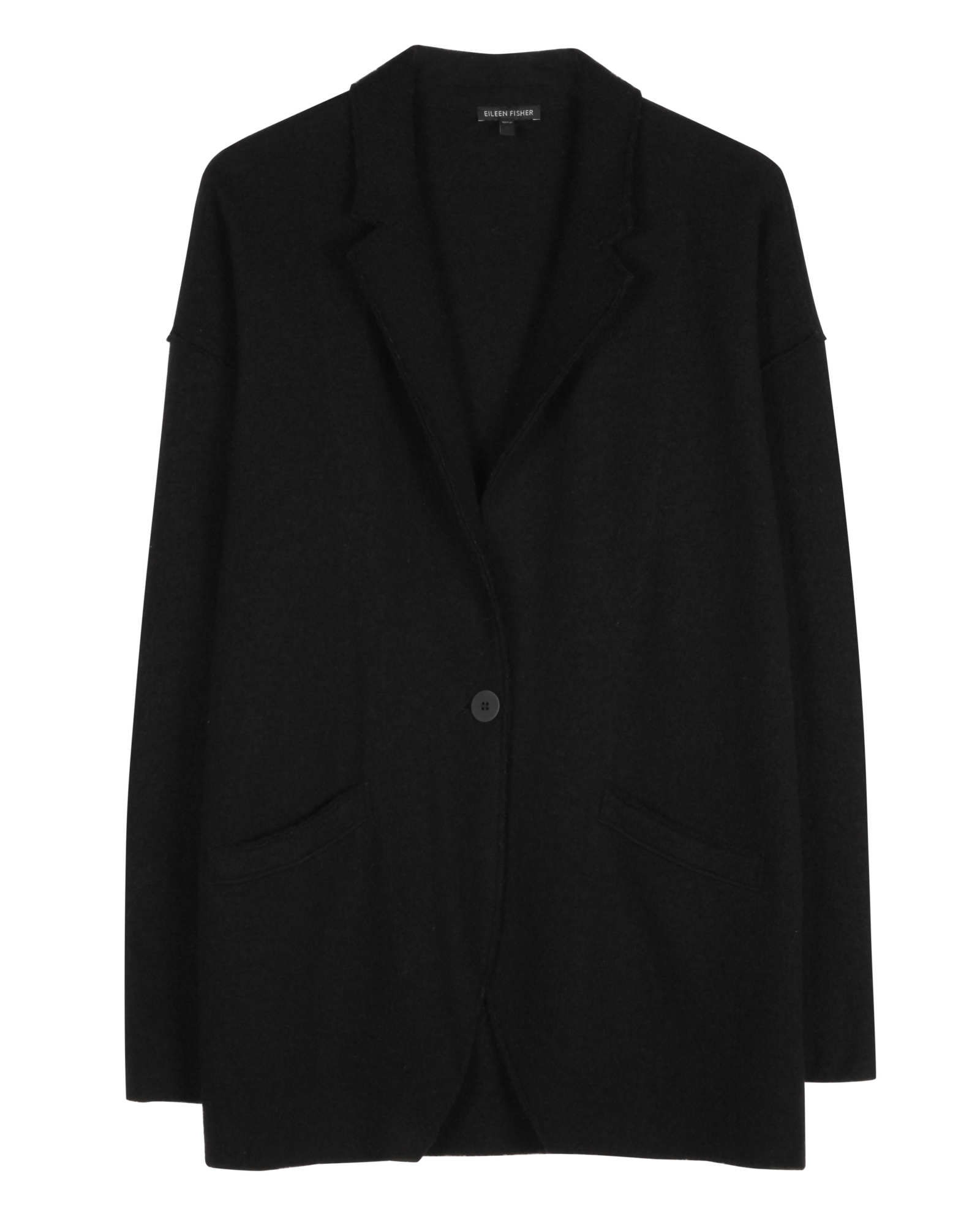 Lightweight Boiled Wool Jacket