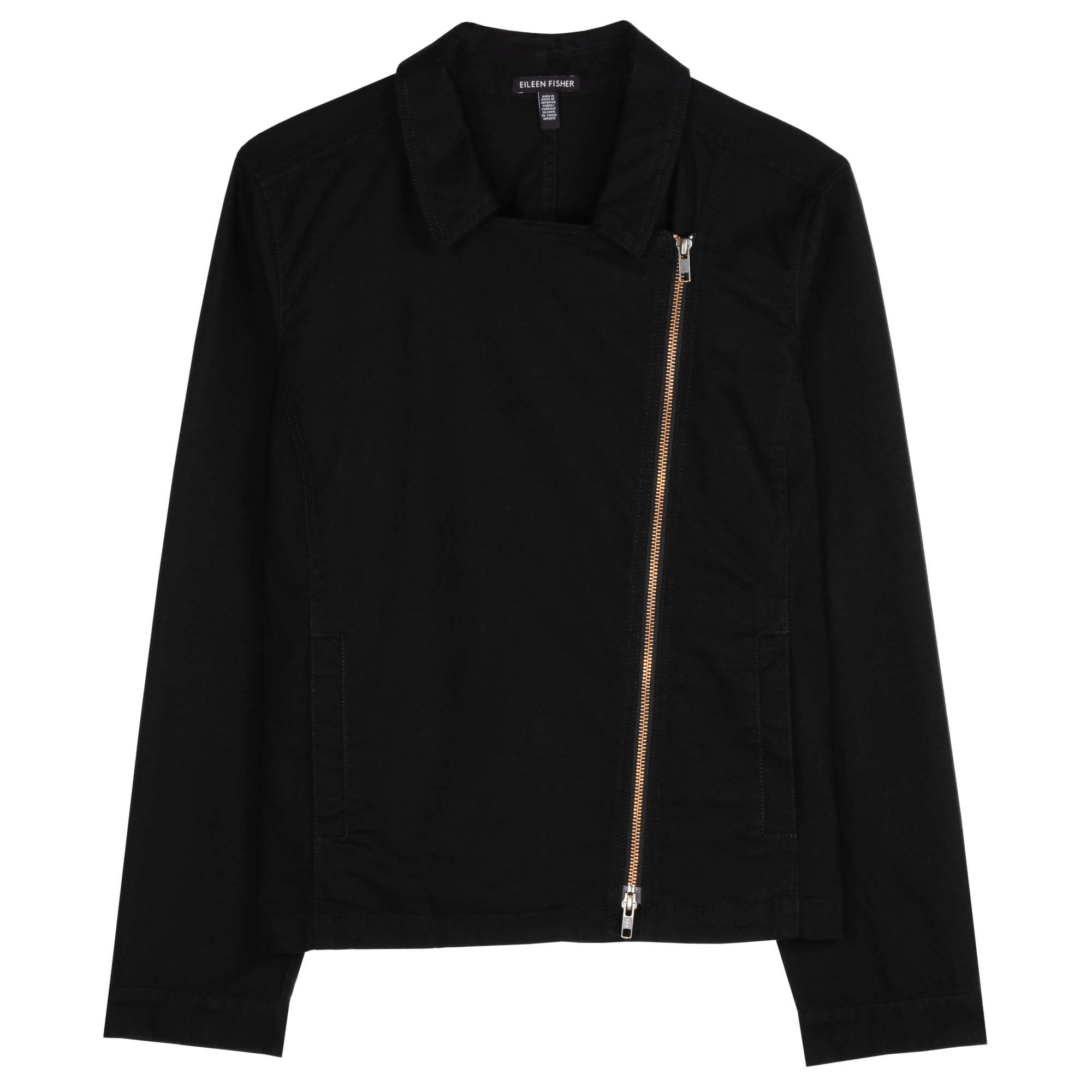 Organic Cotton Stretch Jacquard Jacket