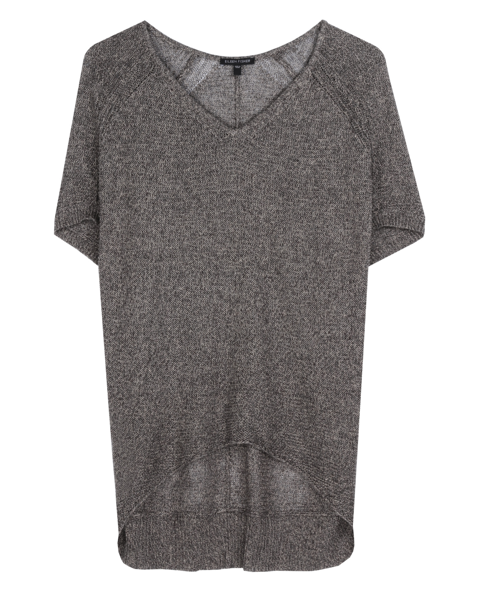 Multi-Tonal Mesh [Multi-Tonal Linen] Pullover